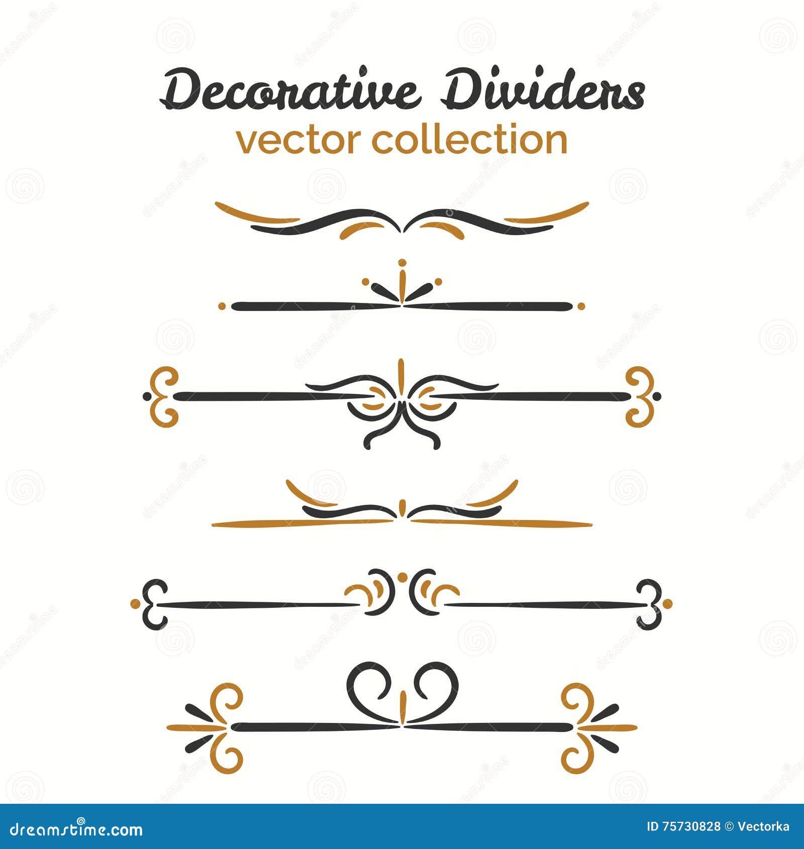 divider set vector - photo #6