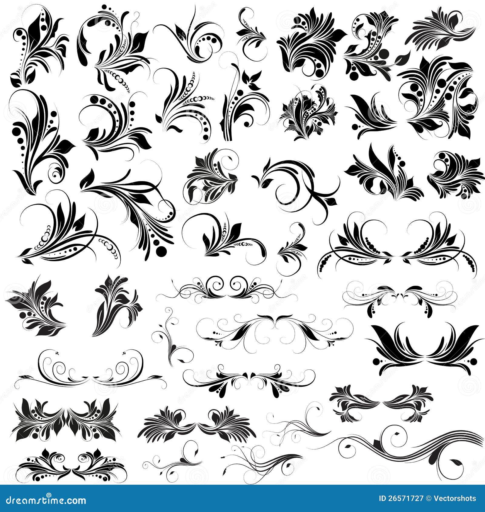 free vector clipart flourishes - photo #46