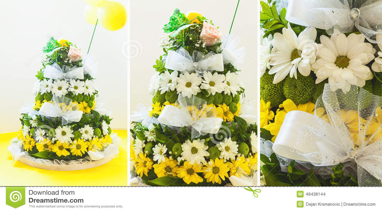 Flower Arrangement Stock Photo Image Of Ceremony Birthday 49438144