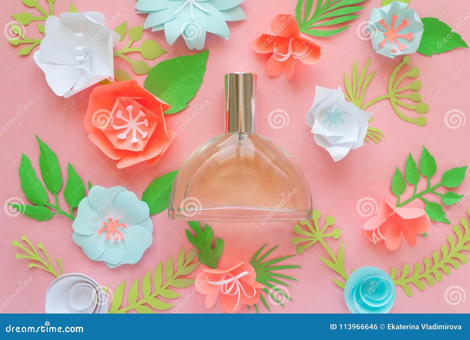 Flower Arrangement Flowers Fragrance Perfume Stock Photo Image