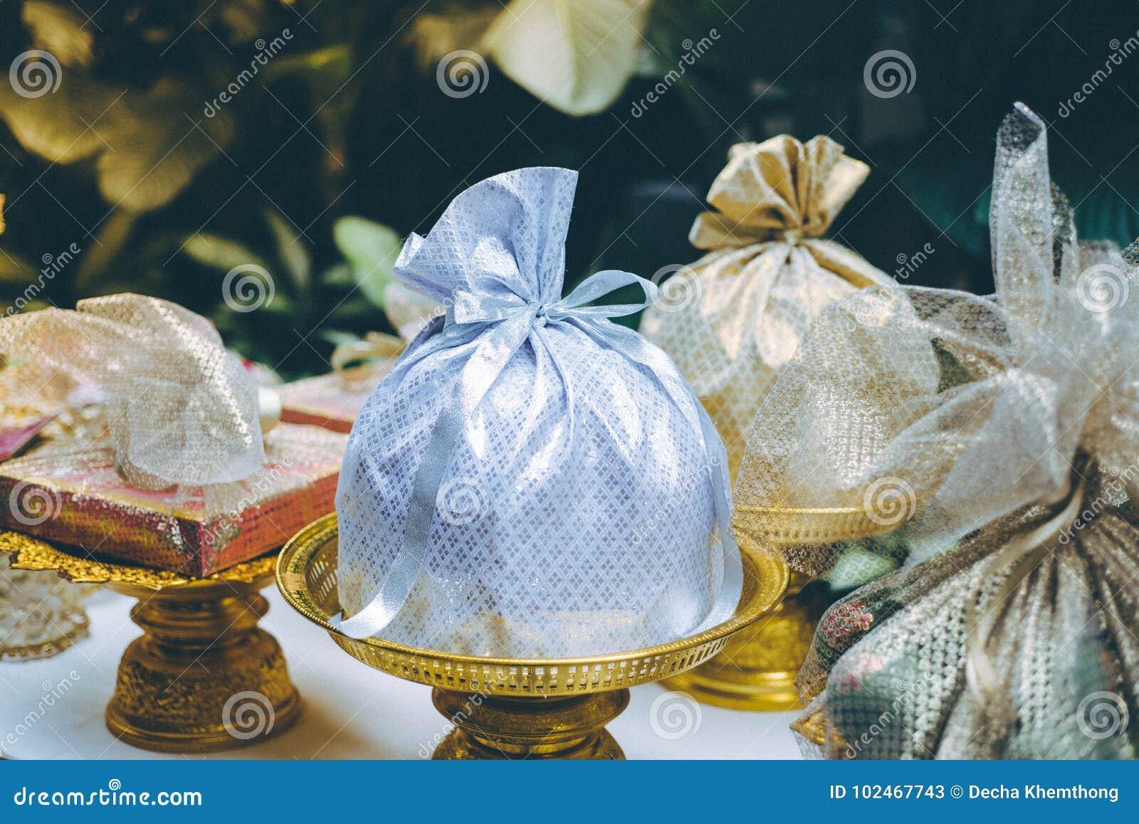 Gift Set For Thai Wedding Caremony Stock Image Image Of Groom