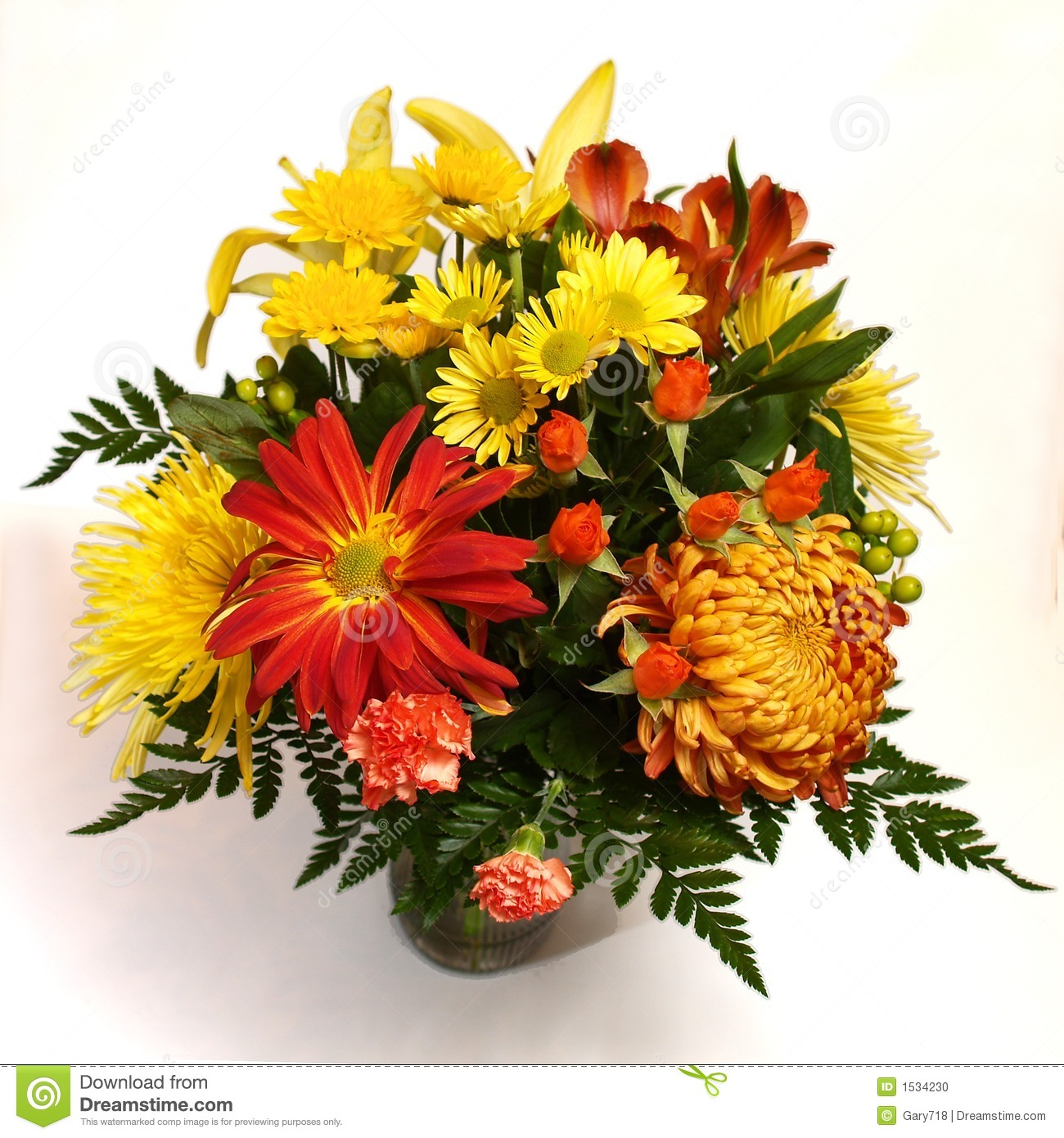 blooming flower arrangement in vase stock photo  image, Beautiful flower