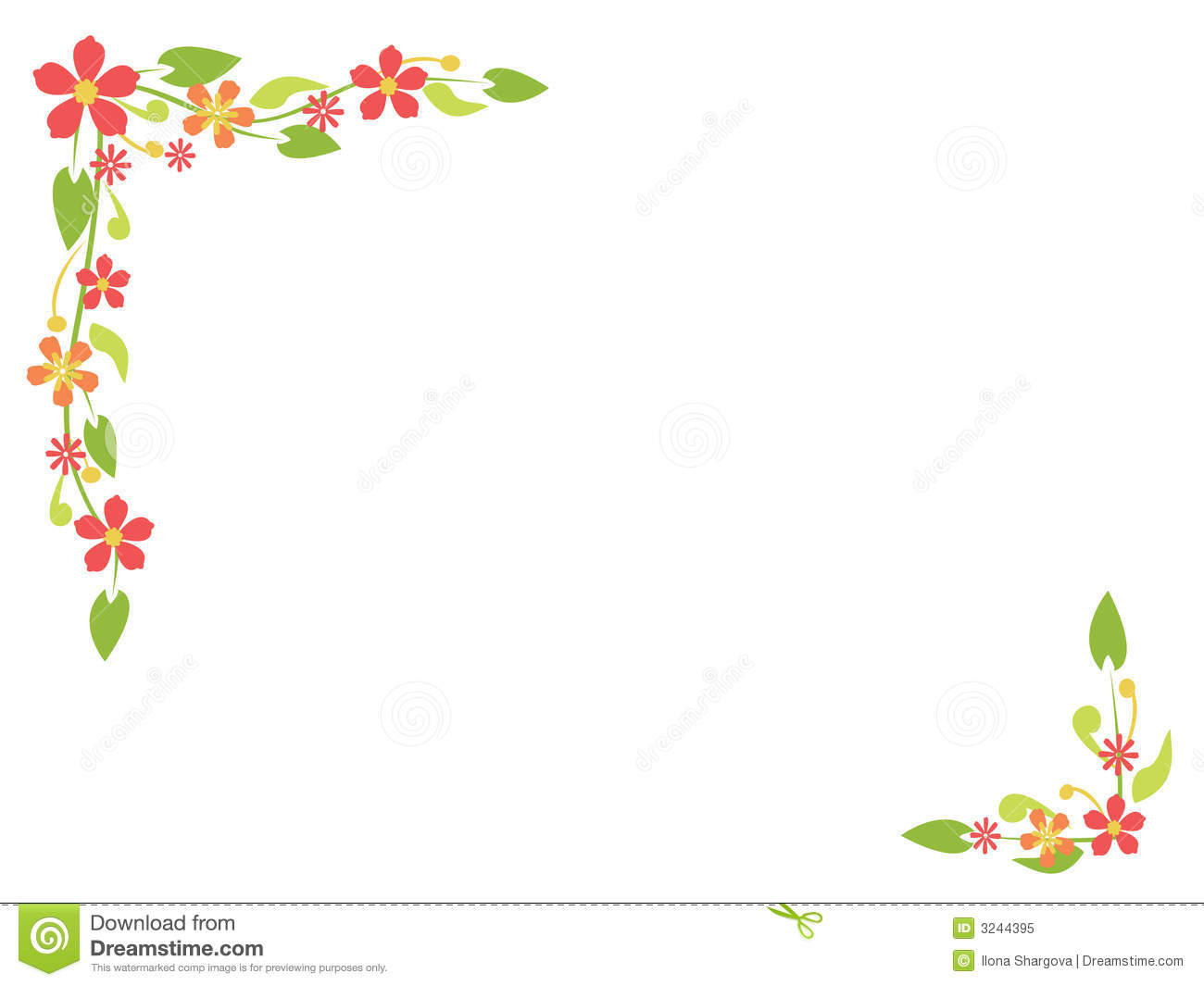 Simple flower pattern background - photo#11