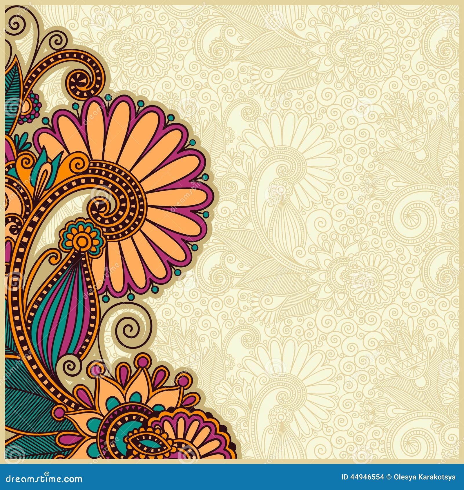 flower background design stock vector illustration of corporate