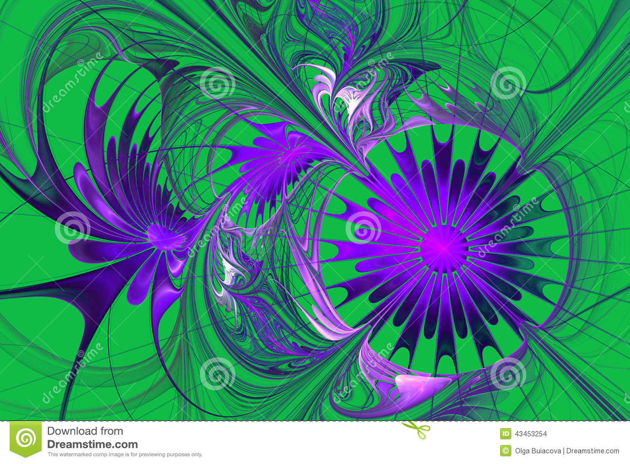 flower background purple and green palette stock illustration image 43453254. Black Bedroom Furniture Sets. Home Design Ideas