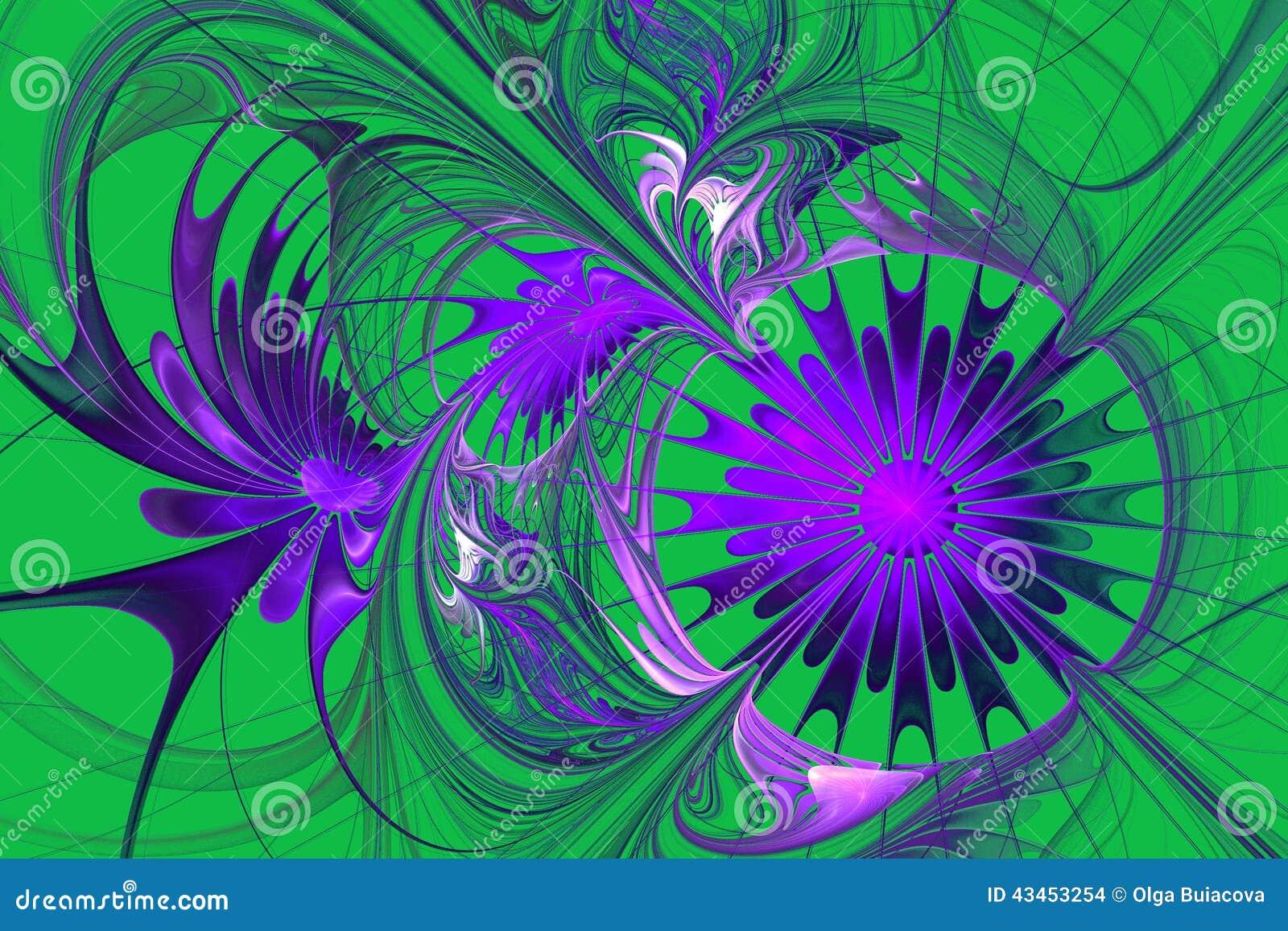 flower background purple and green palette stock illustration image 43453254. Black Bedroom Furniture Sets. Home Design Ideas
