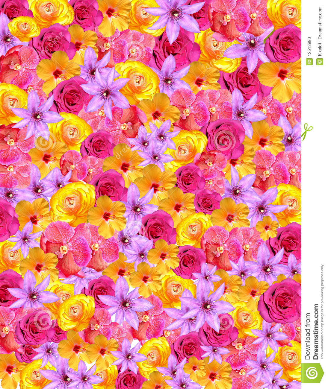 Flower Background For Spring Easter Stock Photo Image Of Pink