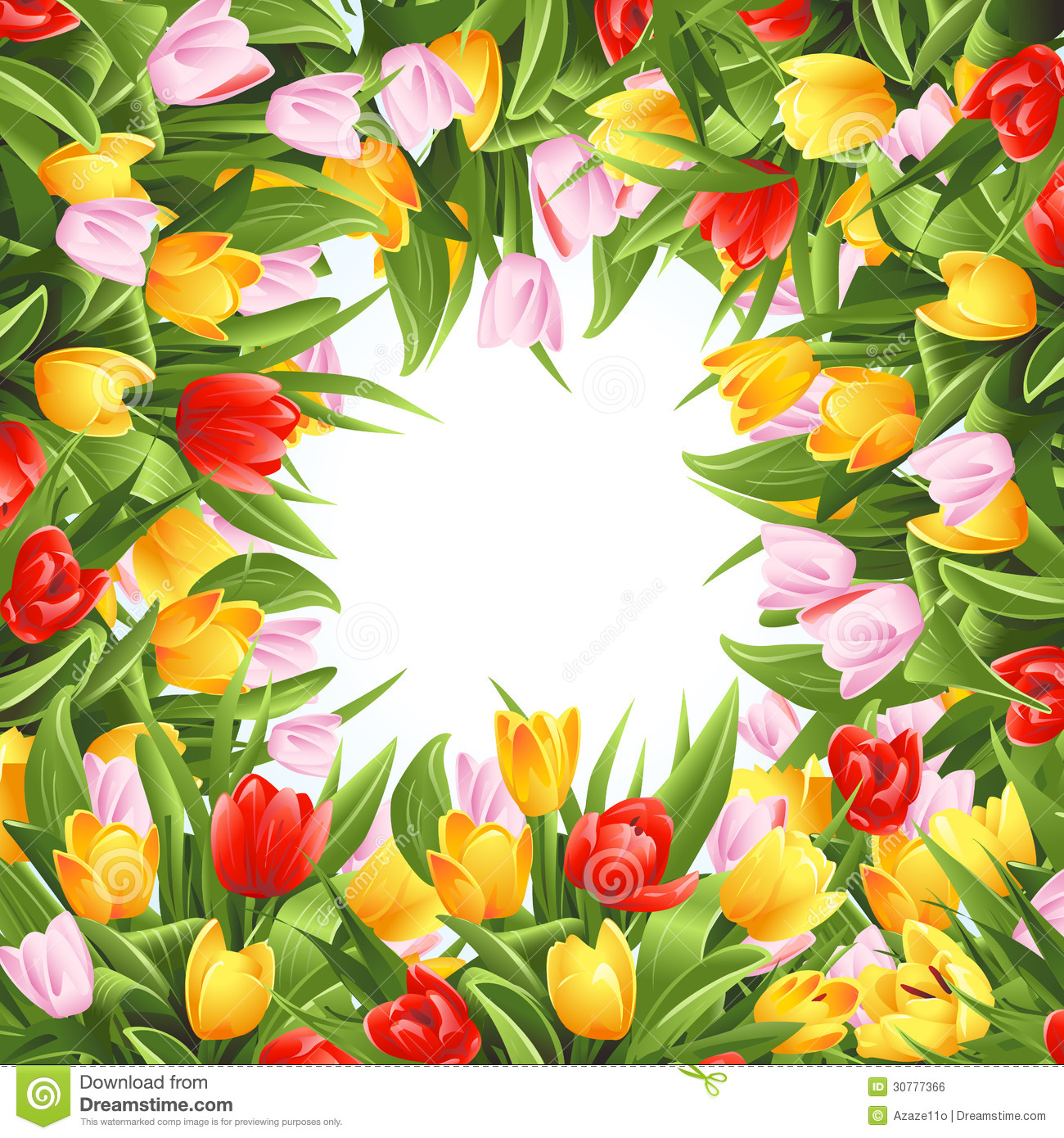 flower background with tulips royalty free stock image