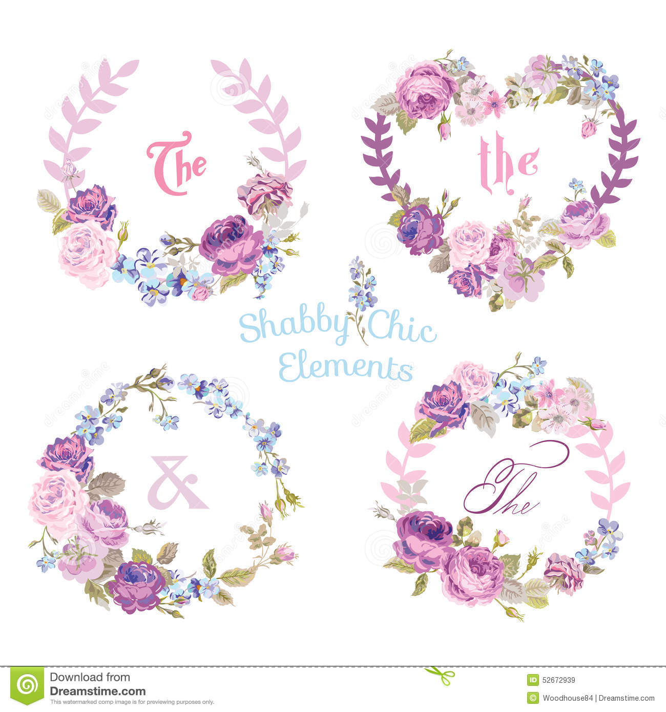 Flower Banners and Tags