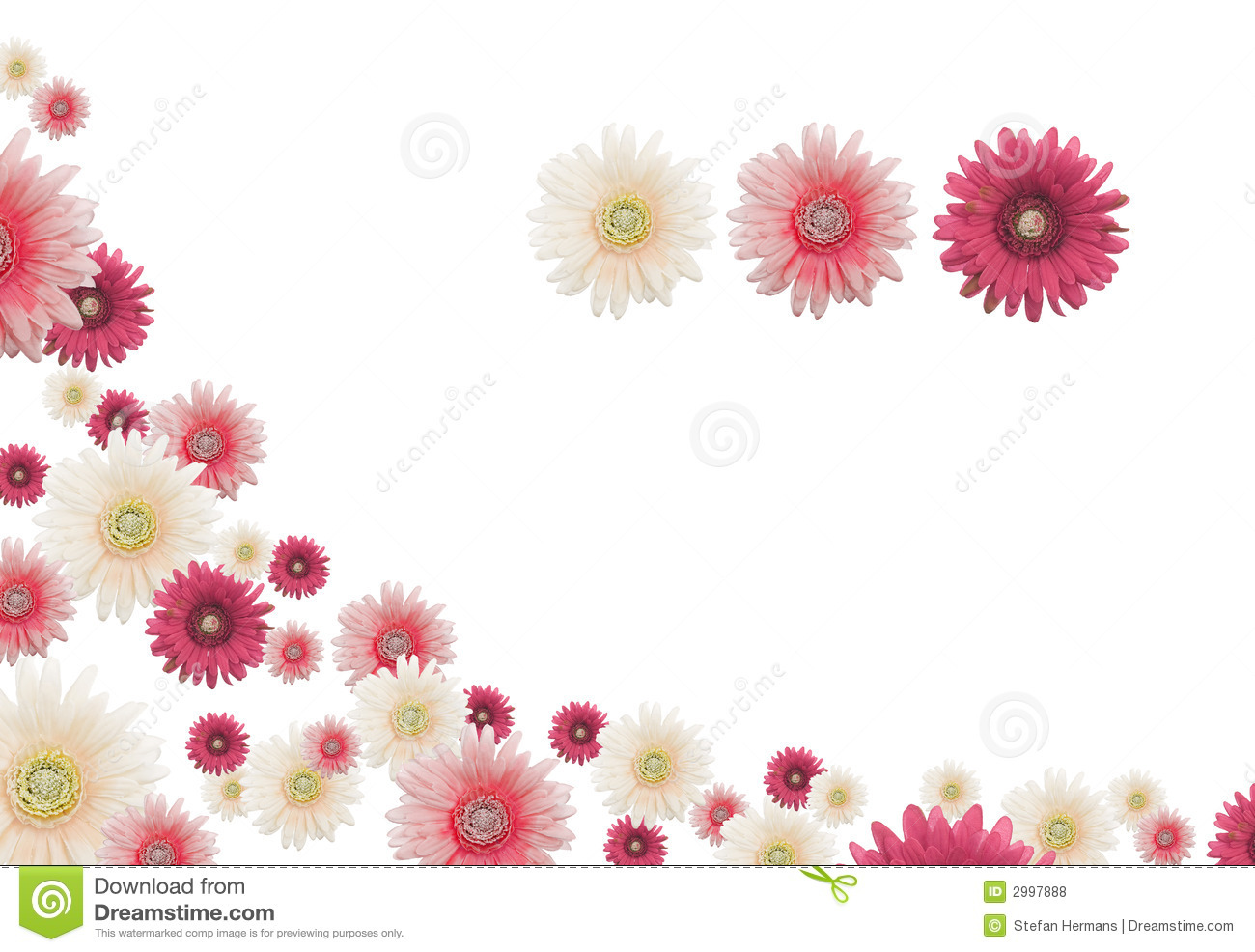 Flower Border Royalty Free Stock Photos - Image: 2997888