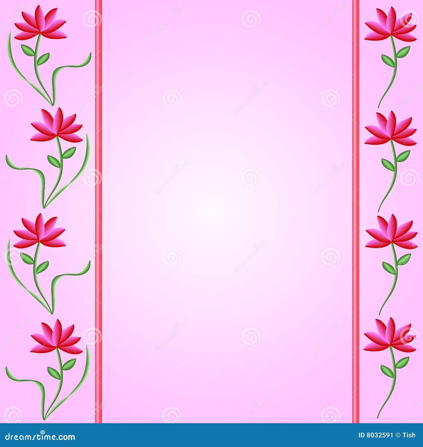 Flower borders on pink gradient background illustration 8032591 flower borders on pink gradient background illustration 8032591 megapixl mightylinksfo