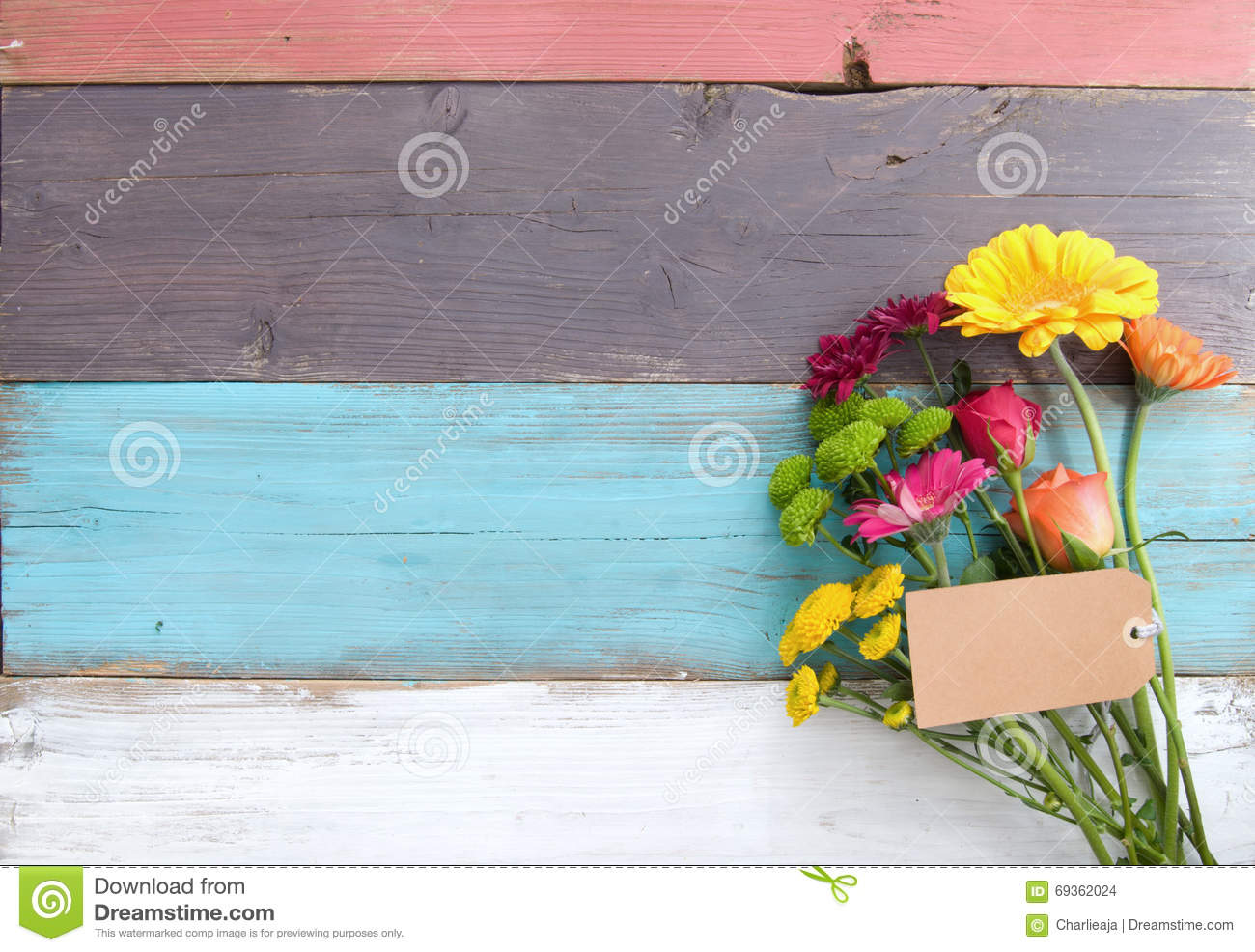 Flower bouquet background stock photo. Image of spring - 69362024
