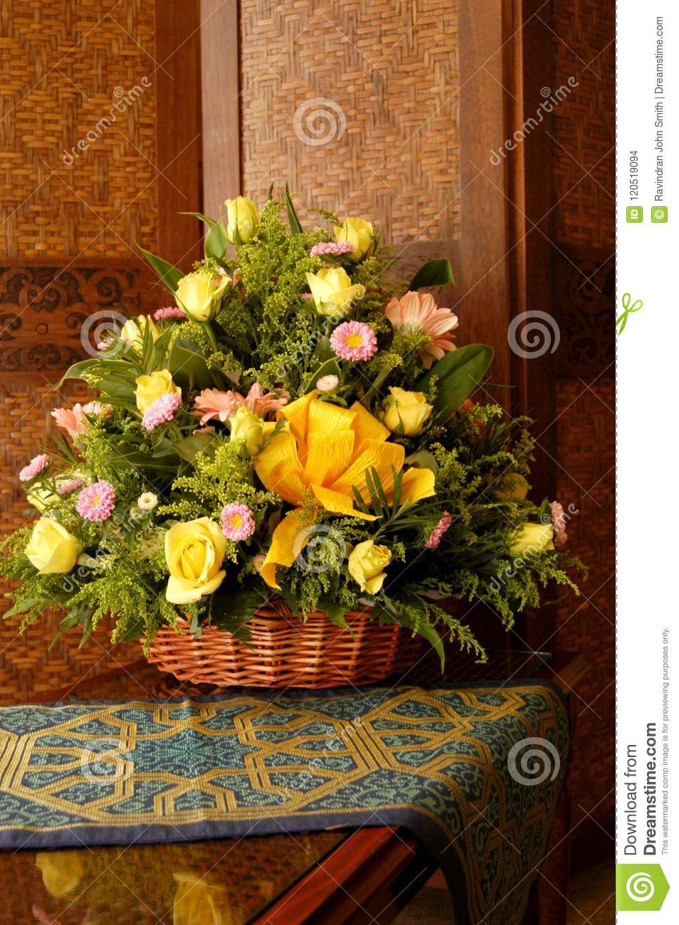 Flower bouquet stock photo image of flower decor creative 120519094 a flower bouquet is a collection of flowers in a creative arrangement flower bouquets can be arranged for the decor of homes or public buildings izmirmasajfo
