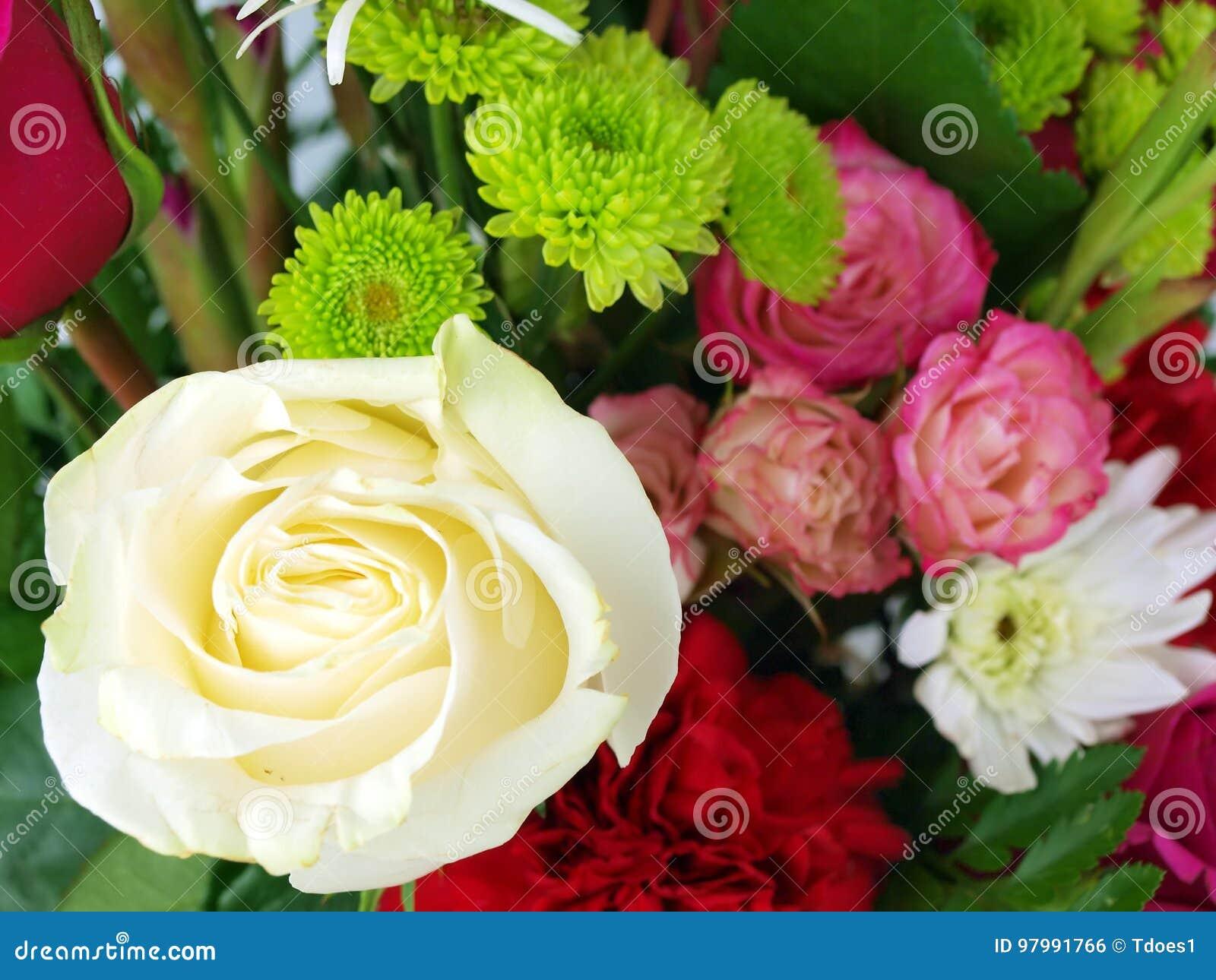 Flower Bouquet Rose Stock Photo Image Of Seasonal 97991766