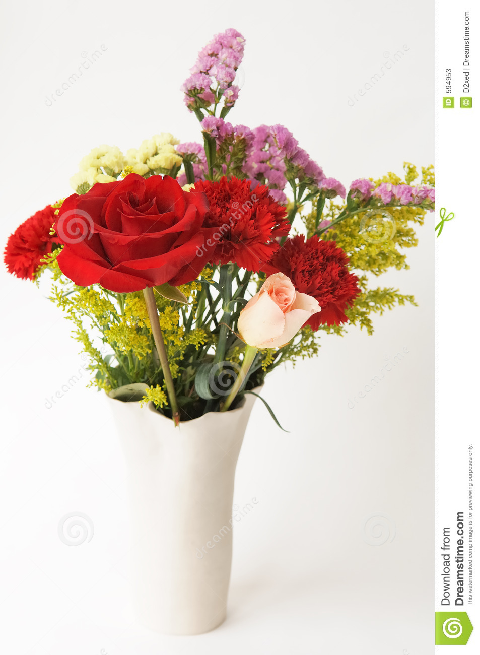 Flower bouquet in a vase stock image image of holding 594953 flower bouquet in a vase reviewsmspy