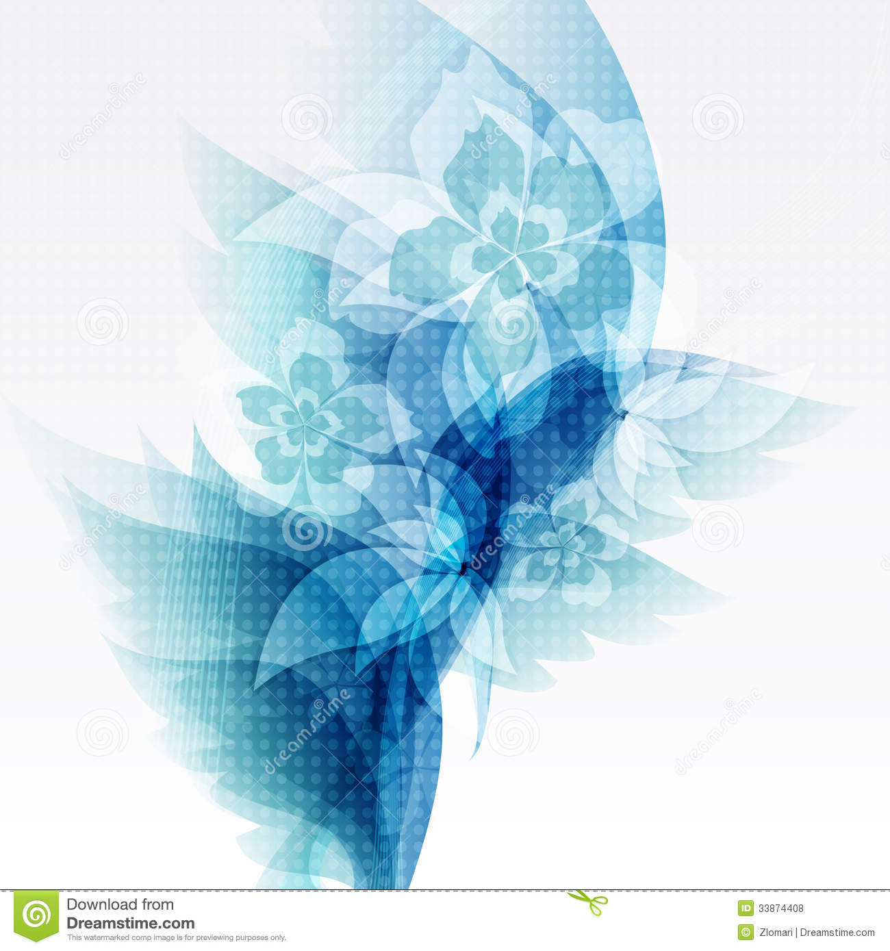 background for brochure design - flower brochure template background design vector stock
