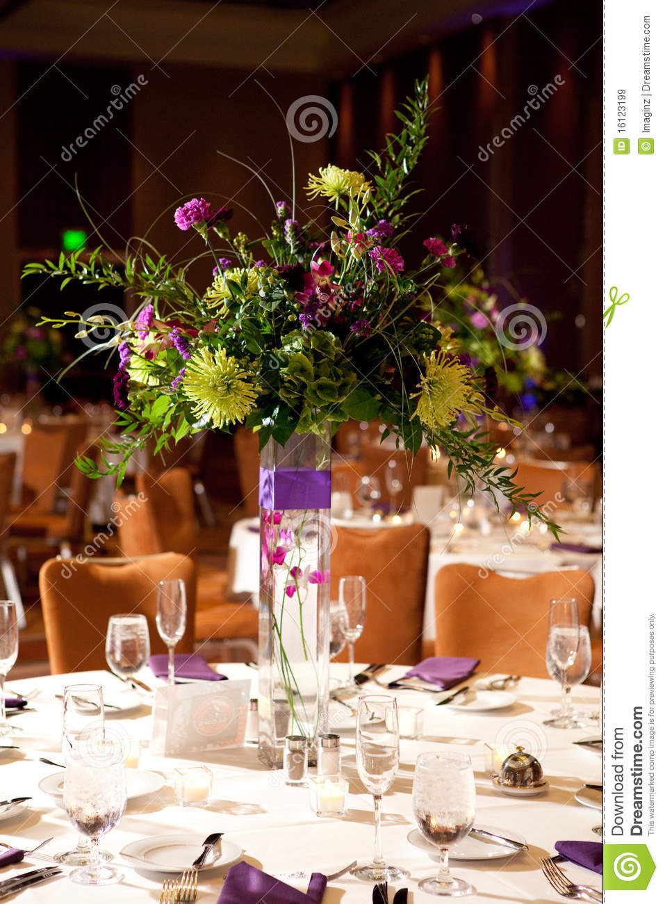 Flower centerpiece royalty free stock images image