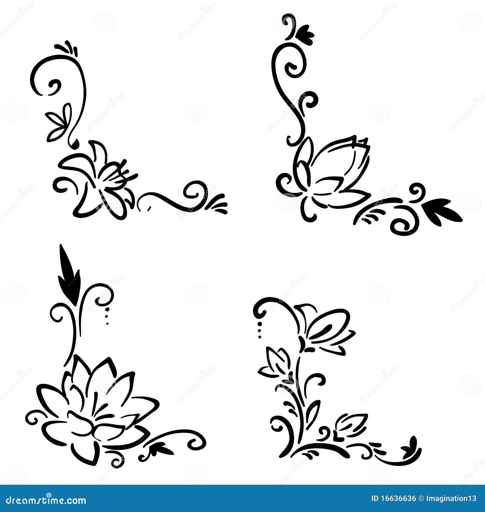 Как нарисовать уголки для