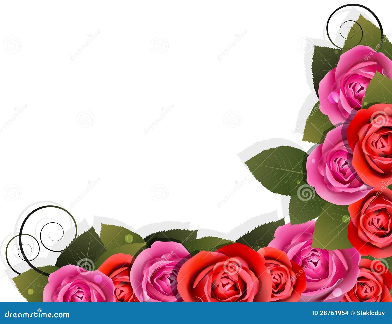 Flower Corner Stock Vector Illustration Of Nobody Event
