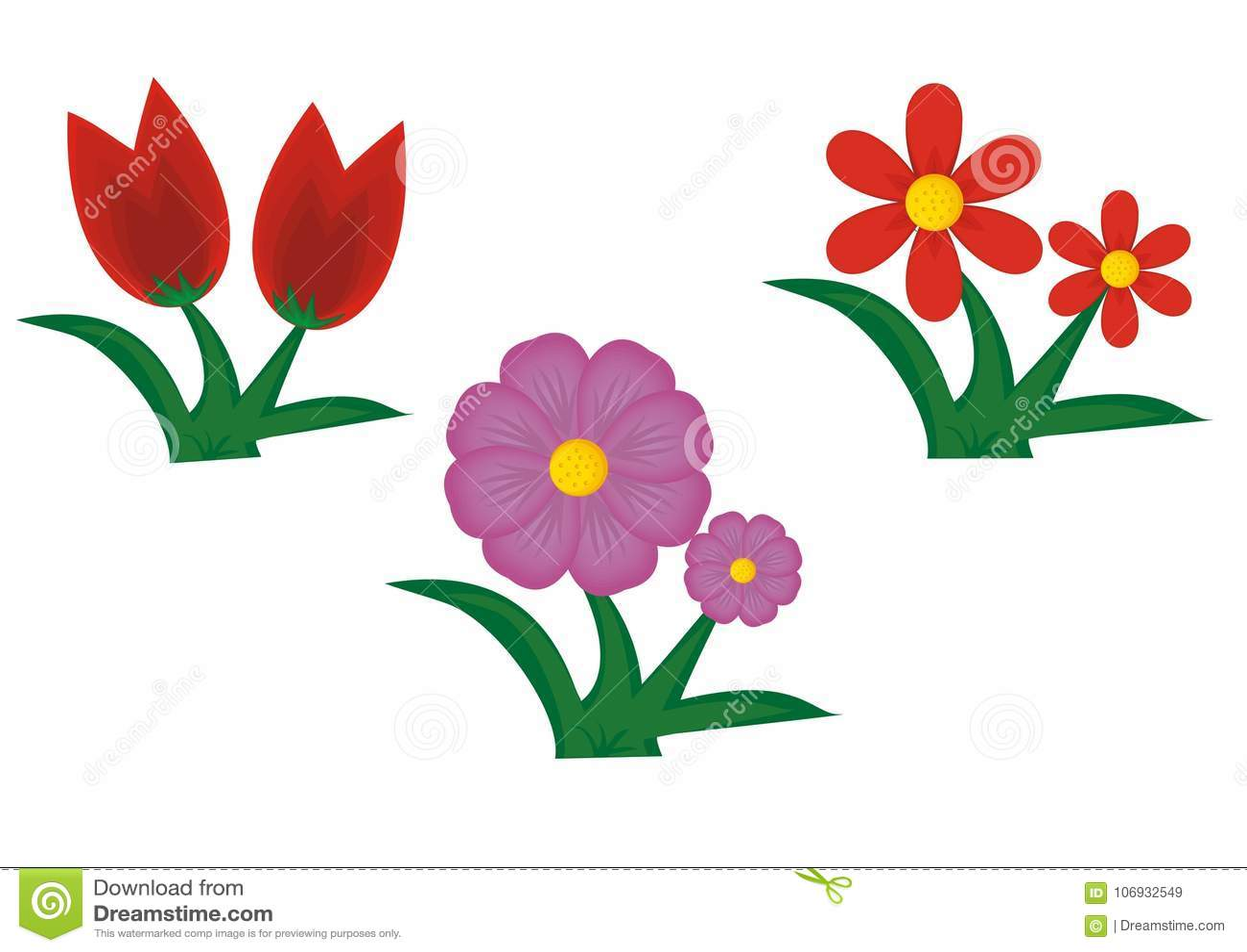 Flower cute cartoon stock illustration illustration of decorative flower cute cartoon izmirmasajfo