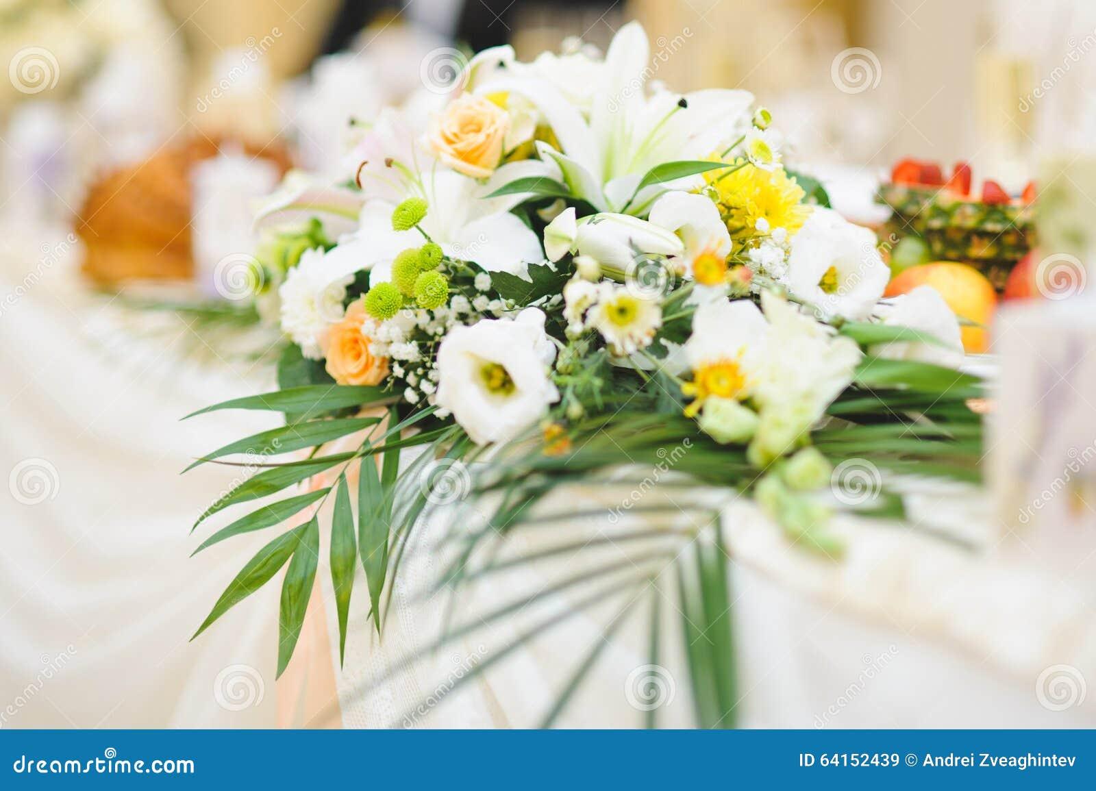 Flower decoration stock photo image