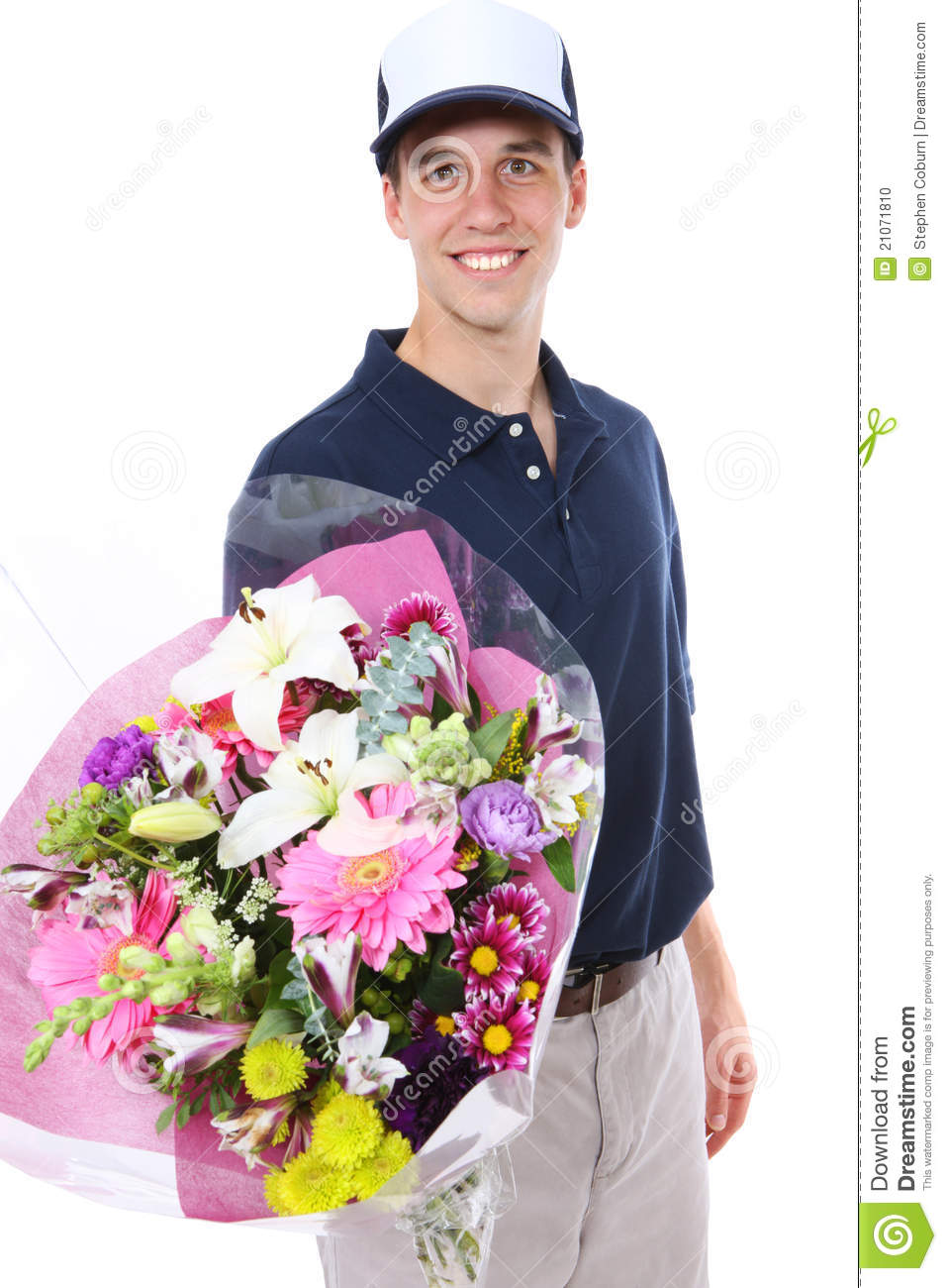 Flower Delivery Man