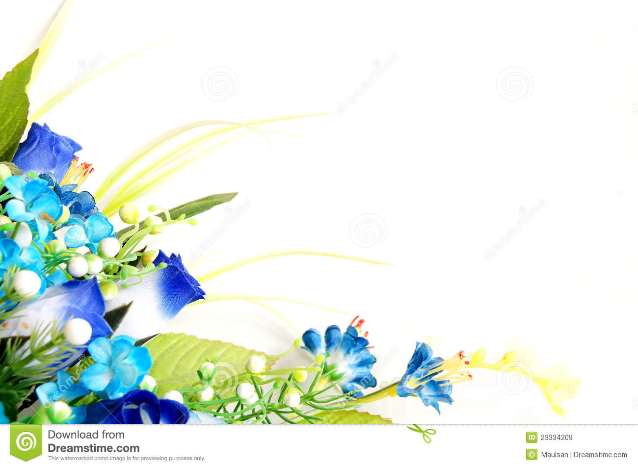 flower design with empty space royalty free stock images image