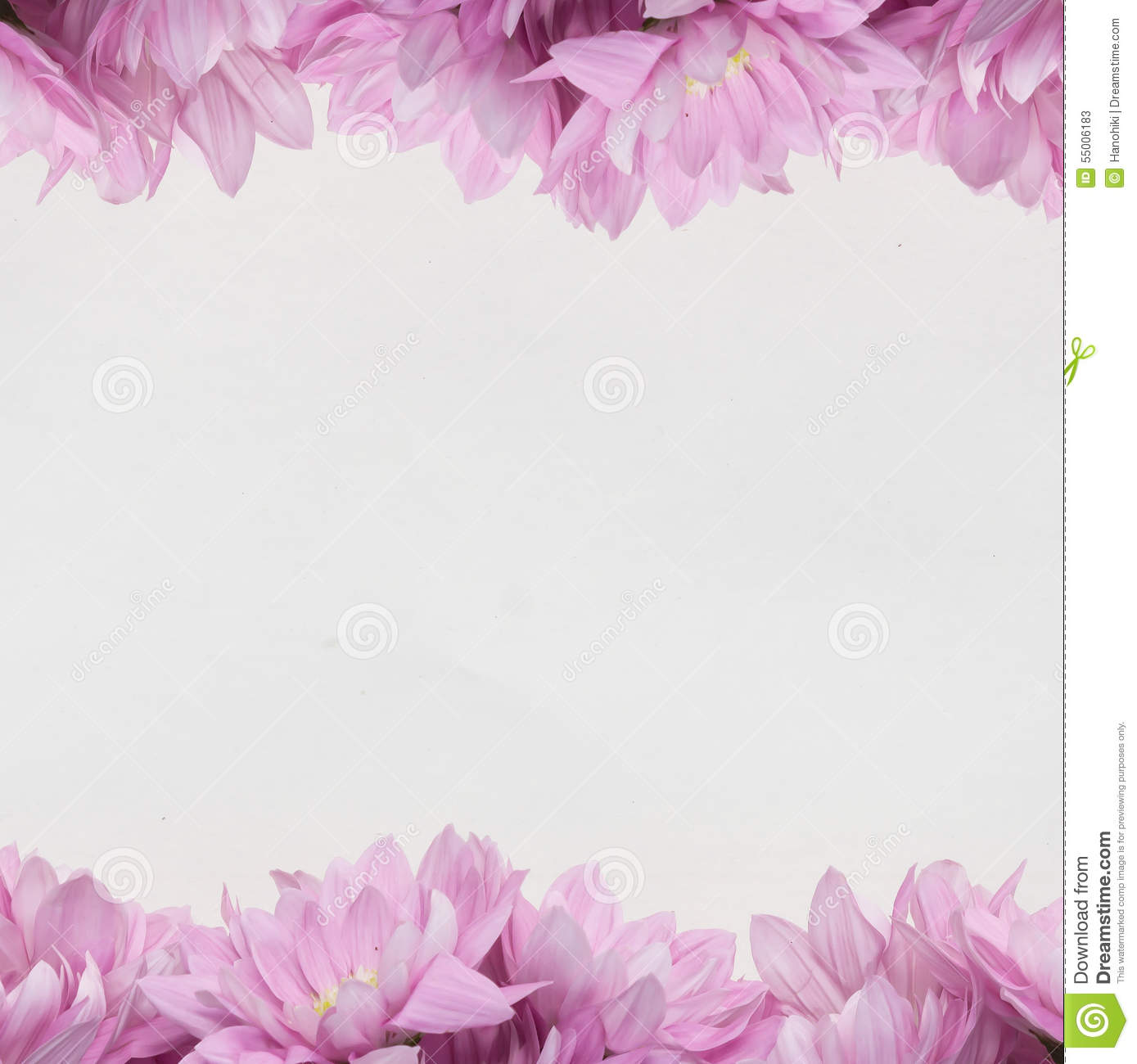 Flower design frame theme with pink flowers stock illustration download comp mightylinksfo