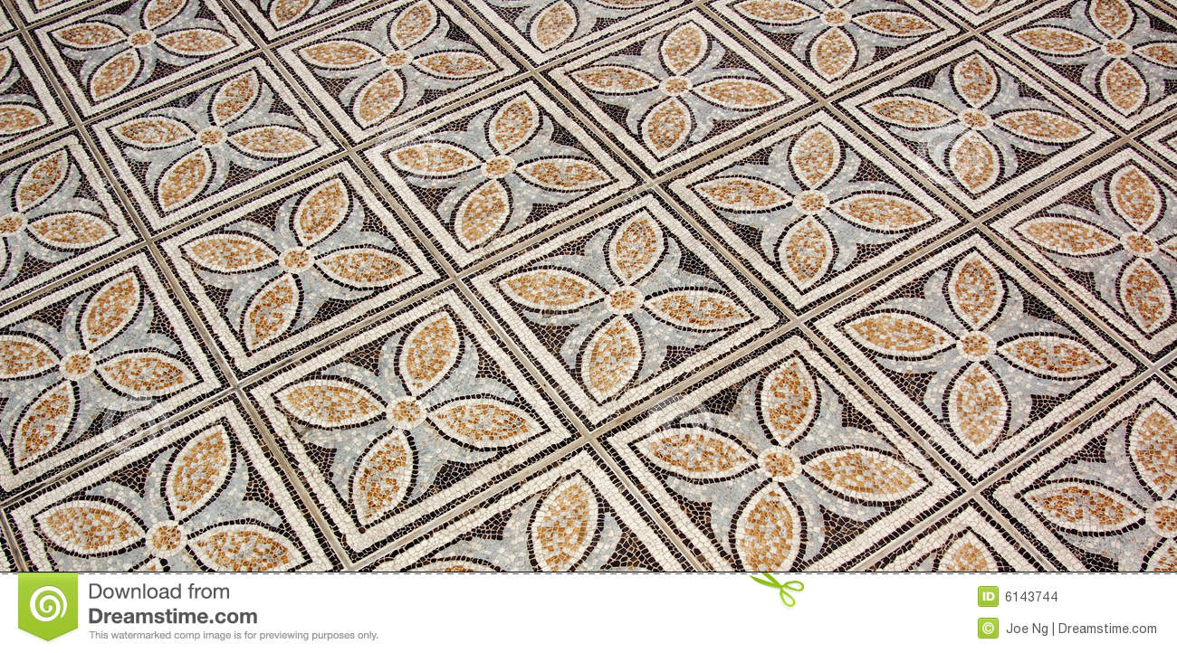 Flower Floor Tiles Stock Photo Image Of Design Tiling