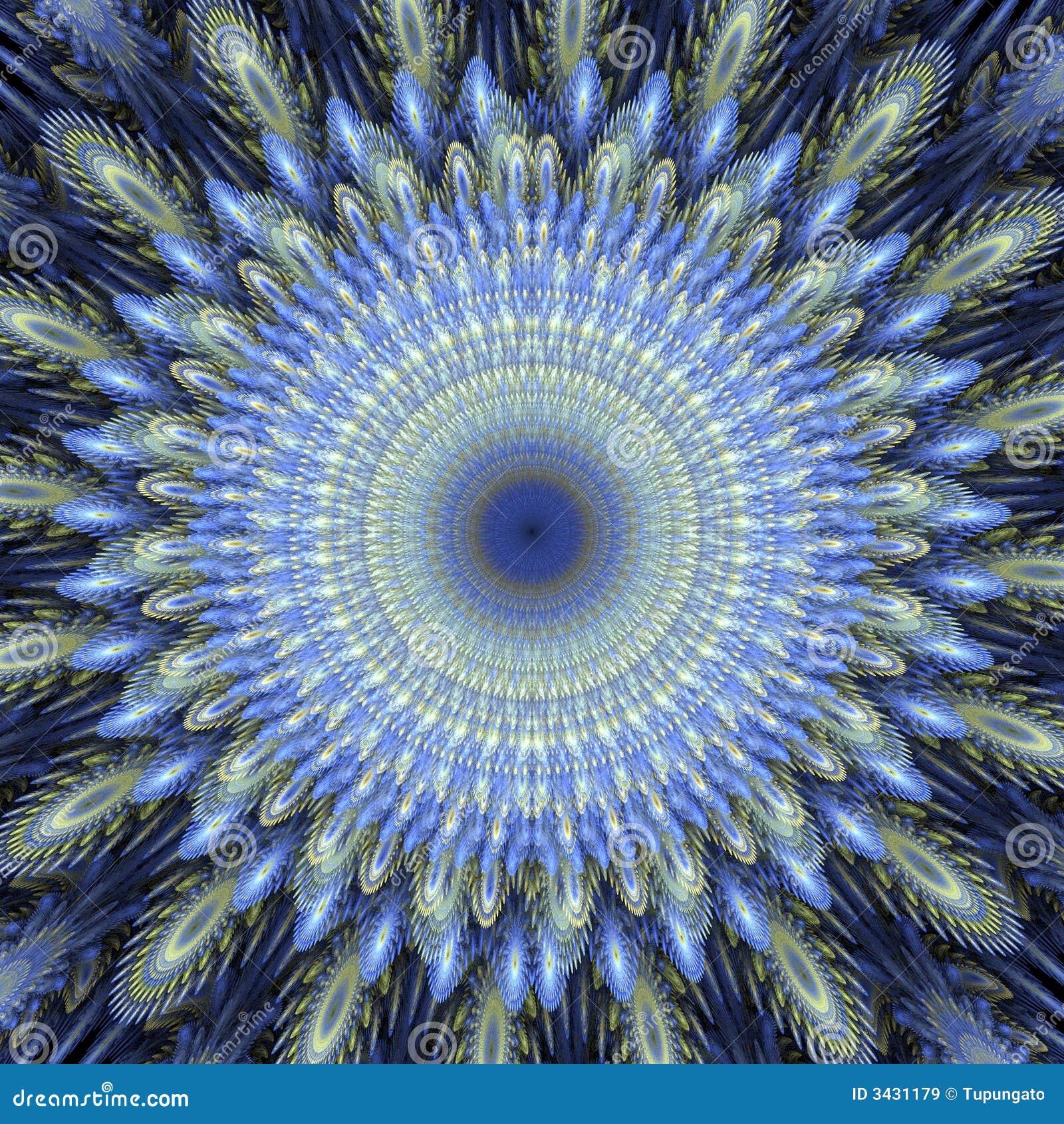 Fractal Black Flower Free Stock Photo: Flower Fractal 3D Stock Illustration. Illustration Of