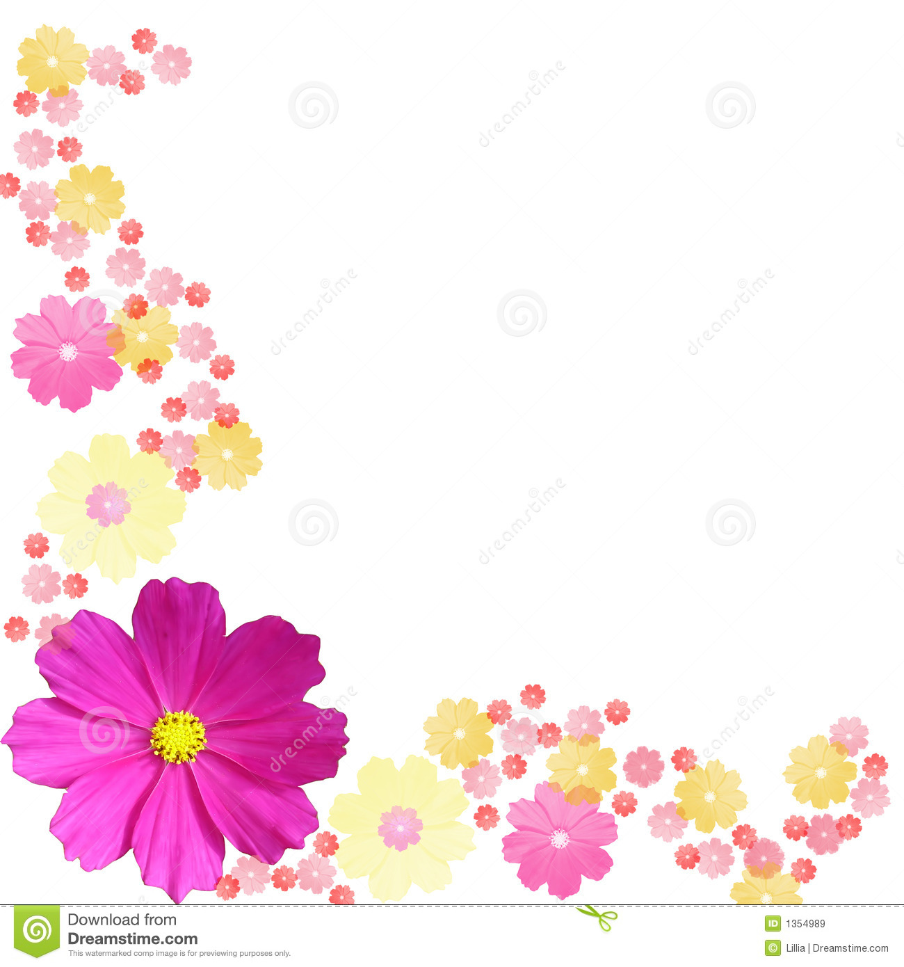 Free Wedding Floral Clipart