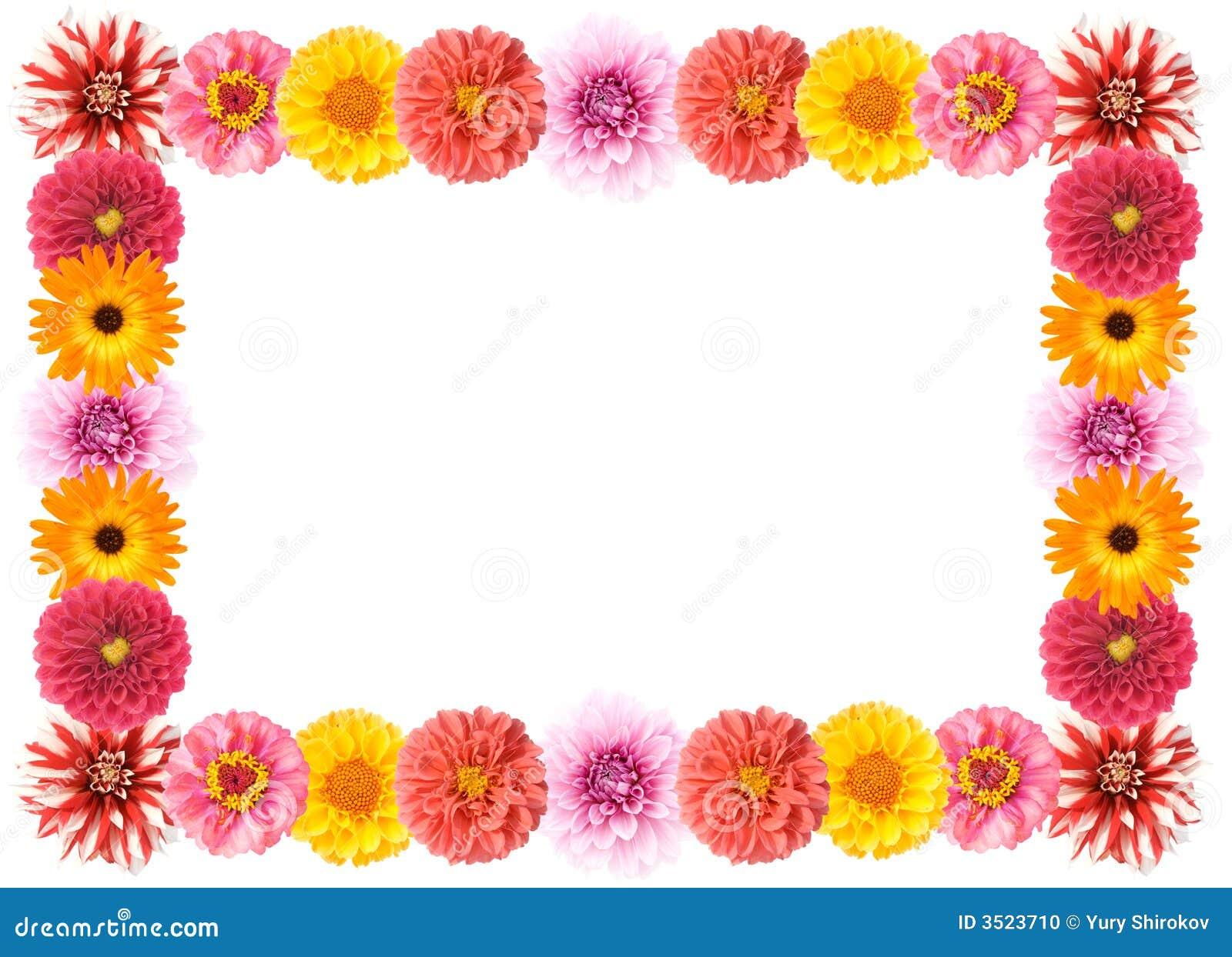 Flower Frame Stock Photo - Image: 3523710