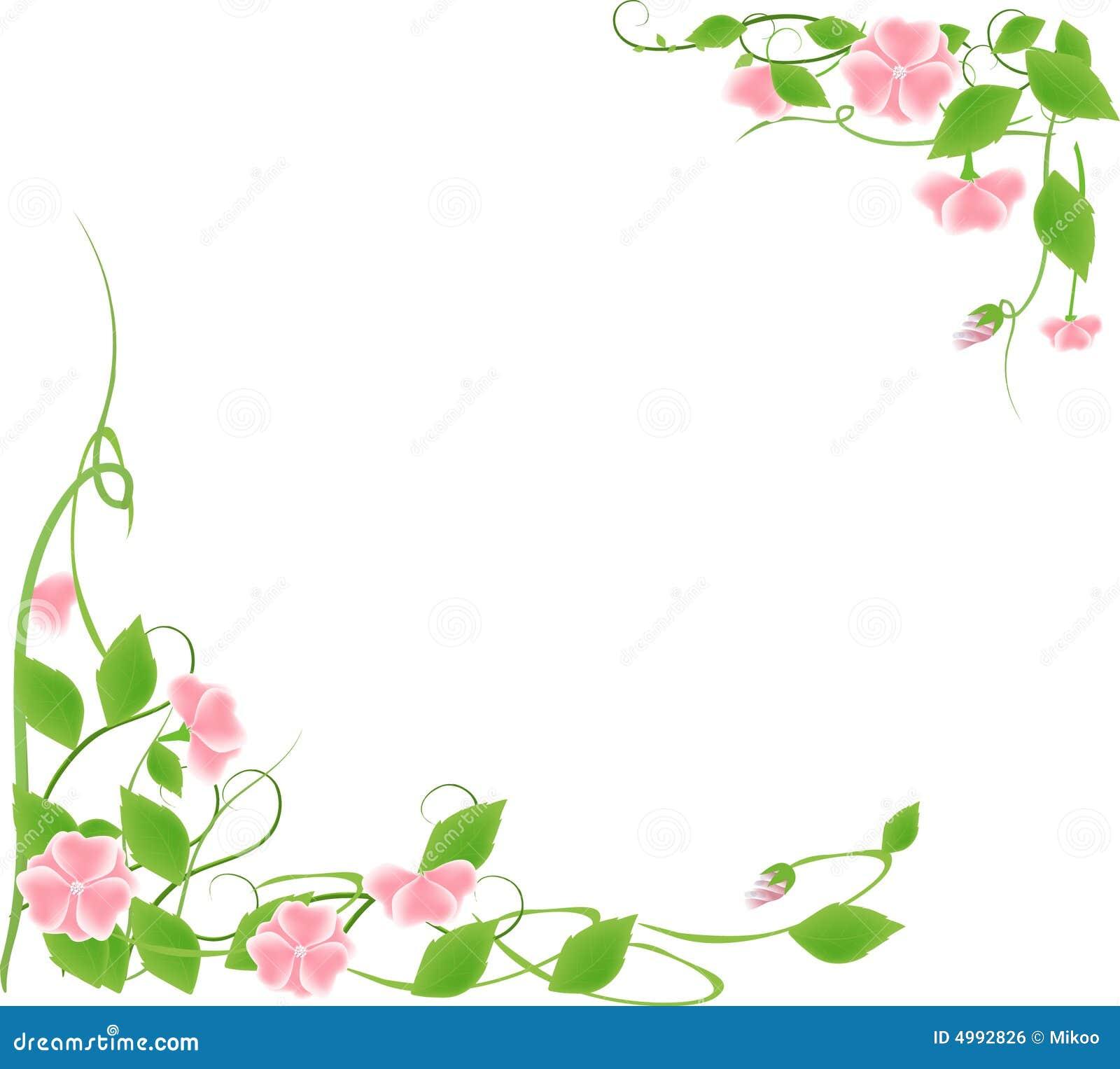 Flower Frame Royalty Free Stock Image Image 4992826