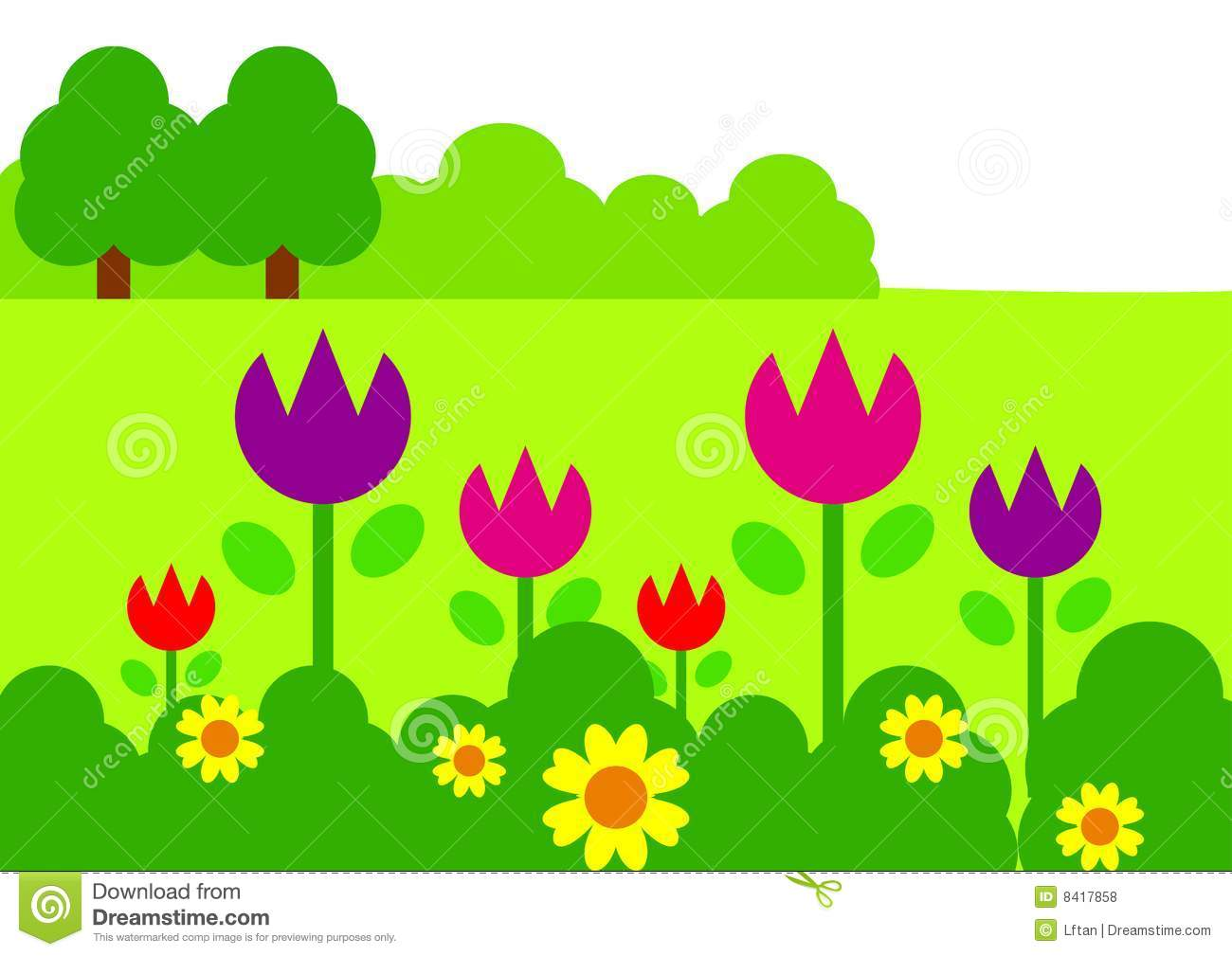free garden design clipart - photo #39