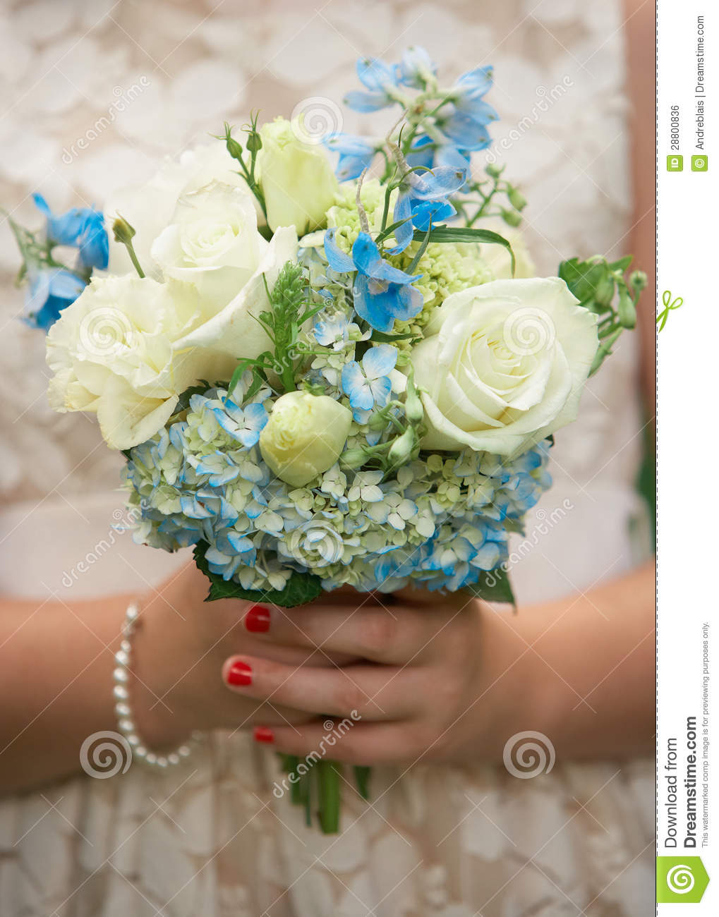 Flower Girl Bouquet Royalty Free Stock Image Image 28800836