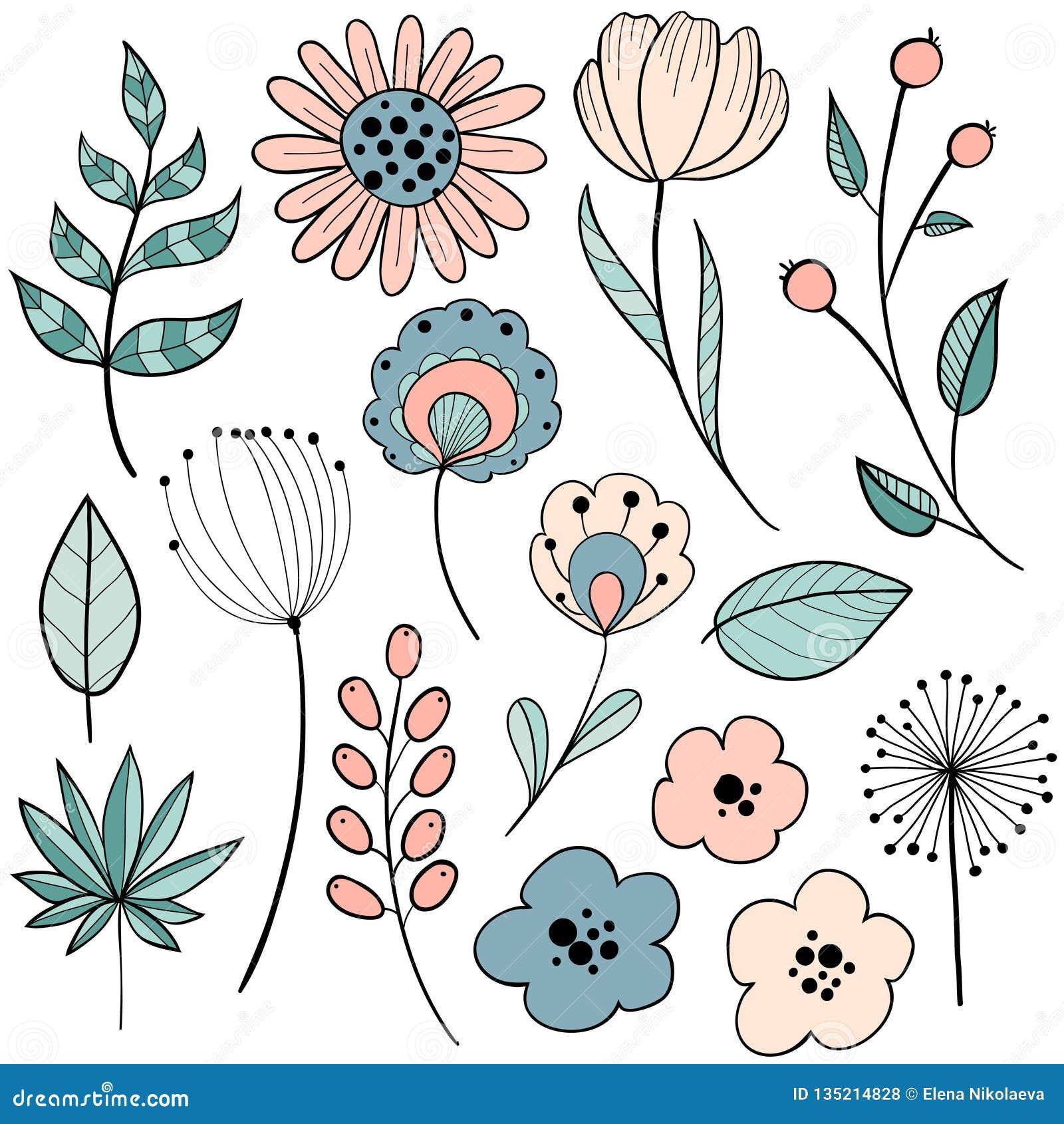 Flower Graphic Design Stock Vector Illustration Of Hipster 135214828