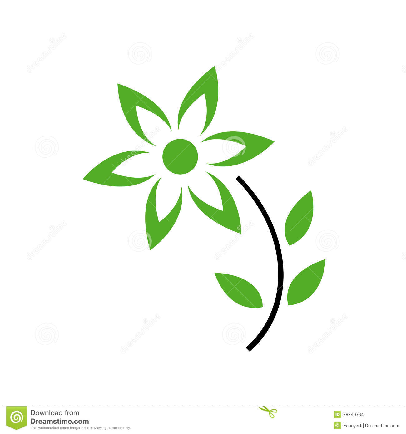 https://thumbs.dreamstime.com/z/flower-green-leaves-petals-logo-concept-38849764.jpg