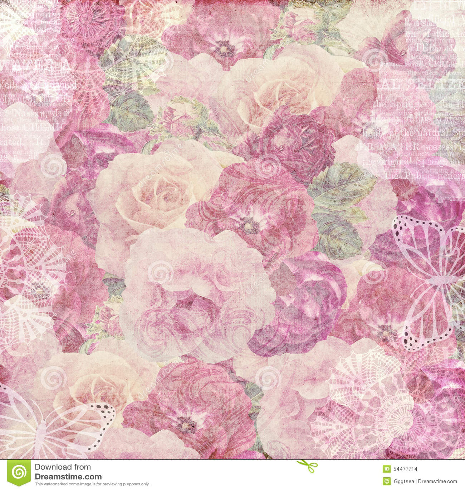 Flower grungy paper background stock illustration illustration of flower grungy paper background mightylinksfo