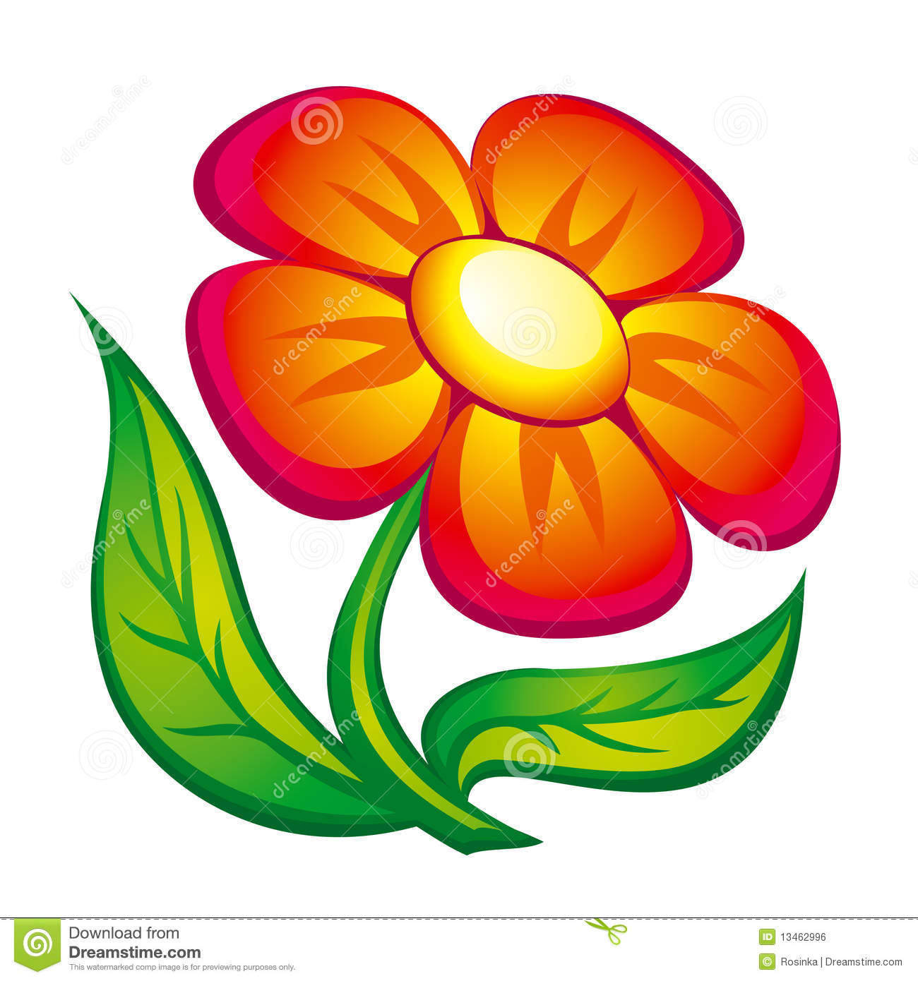 Flower Icon Royalty Free Stock Image - Image: 13462996