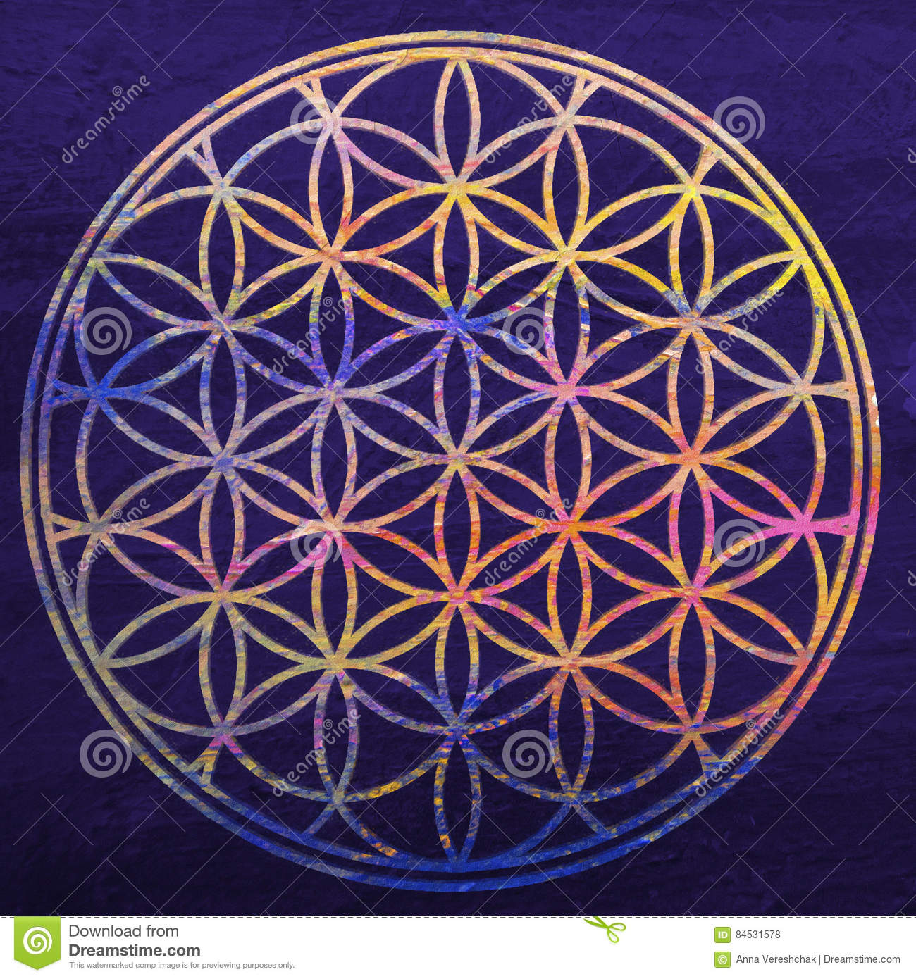 Spiritual meaning of the Flower of Life - Flower of Life