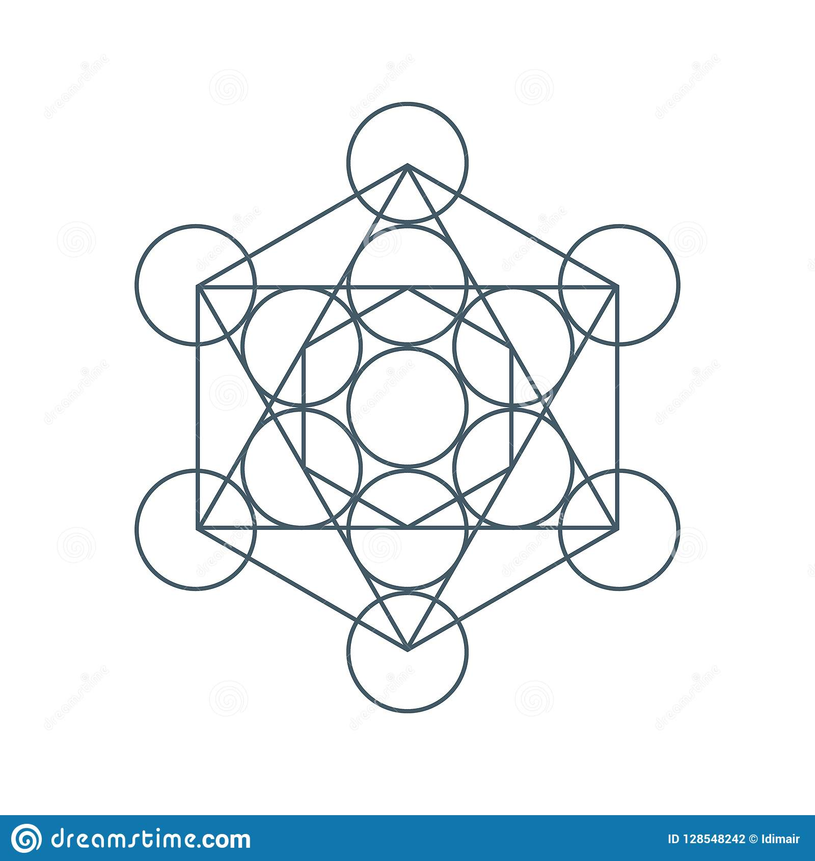 Flower Of Life  Sacred Geometry  Symbol Of Harmony And