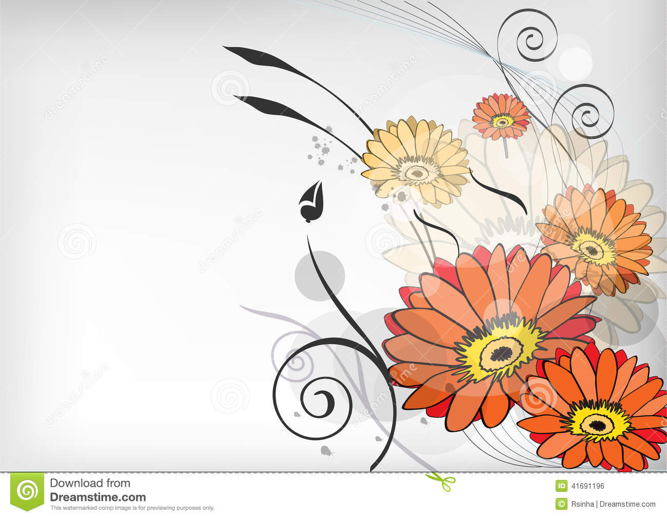 Line Art Flowers Vector : Flower line art stock vector illustration of beauty