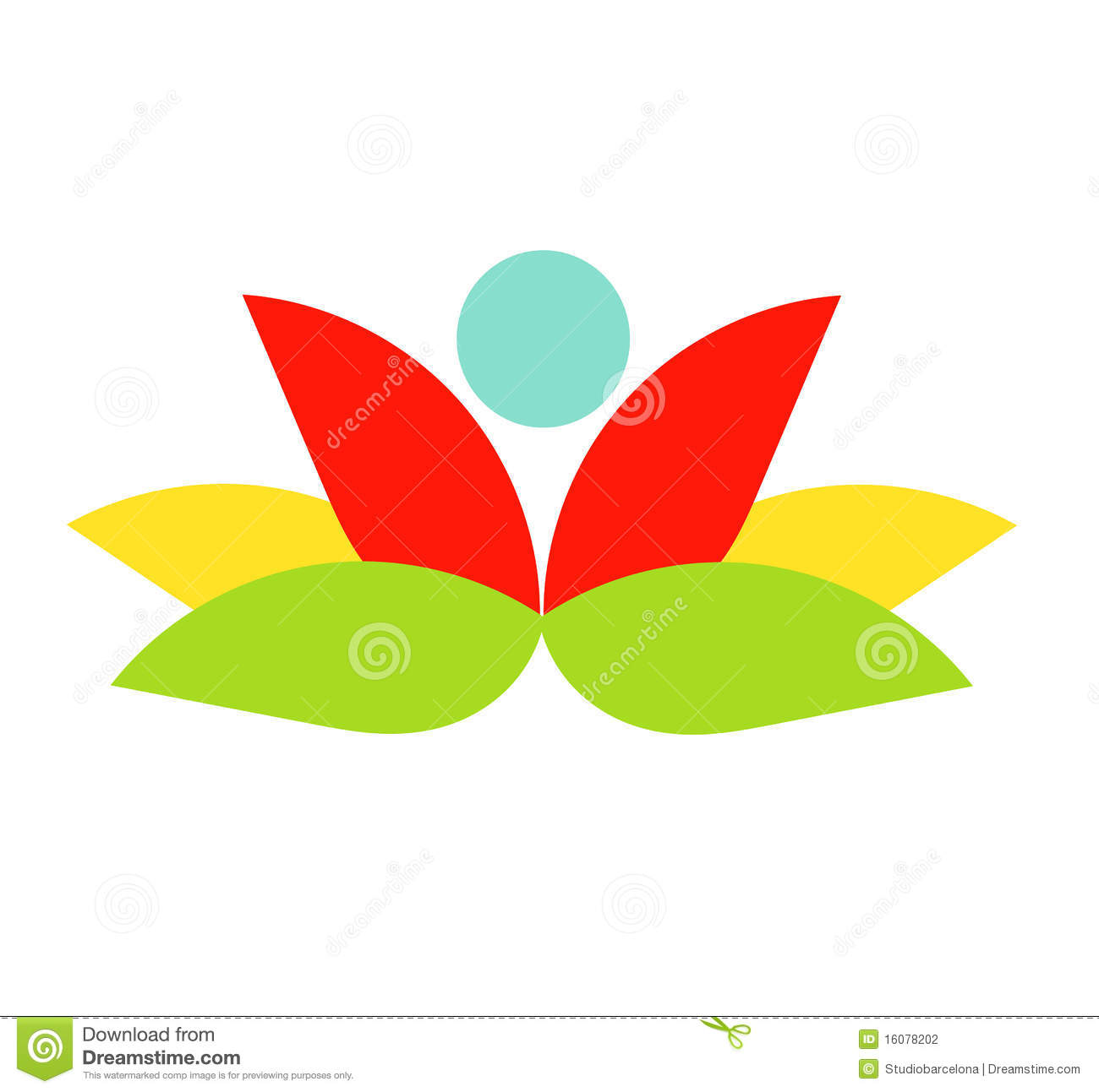 Flower Logo Stock Photography - Image: 16078202