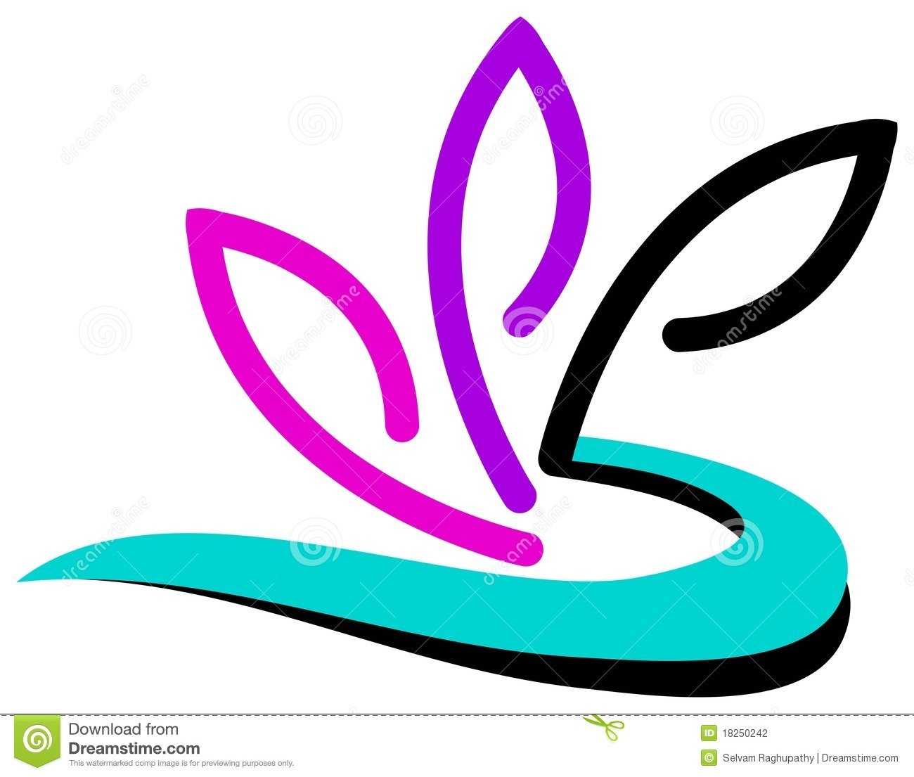 Flower logo design stock vector. Image of concept, floral ... - photo#28