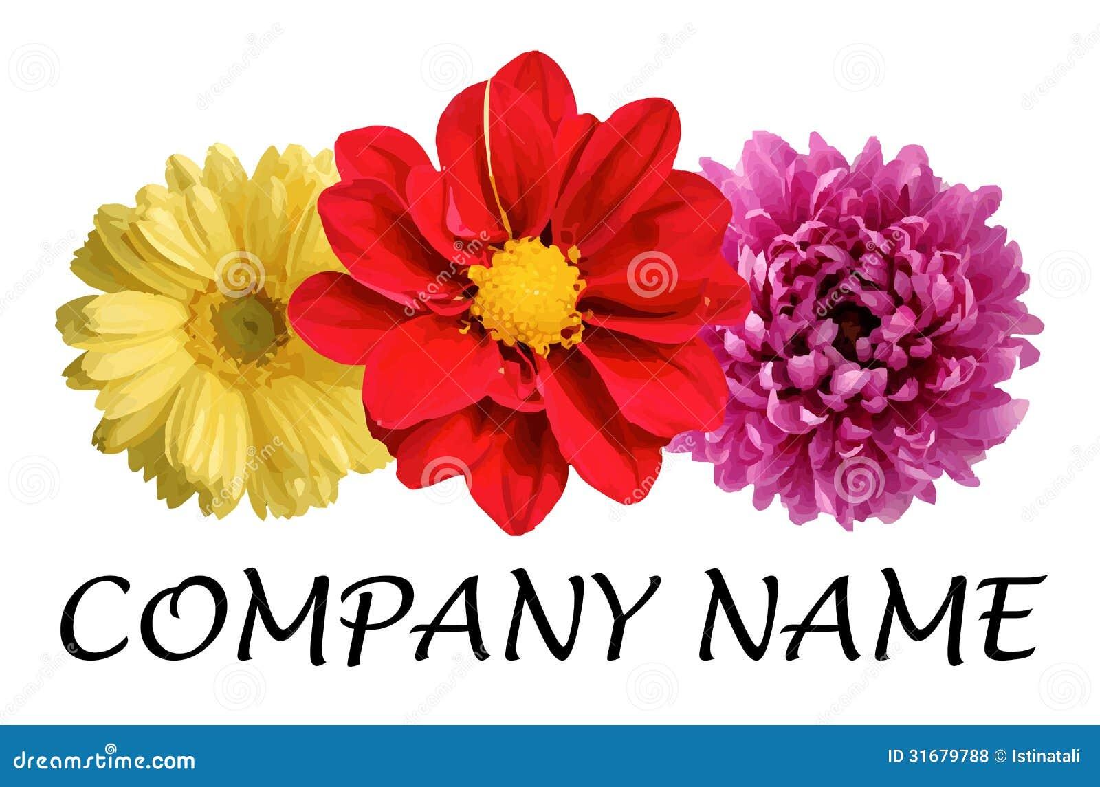 Flower Logo Royalty Free Stock Photos - Image: 31679788