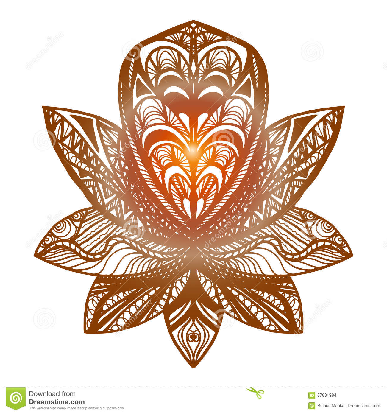 Flower lotus tattoo stock illustration illustration of henna 87881984 download flower lotus tattoo stock illustration illustration of henna 87881984 izmirmasajfo