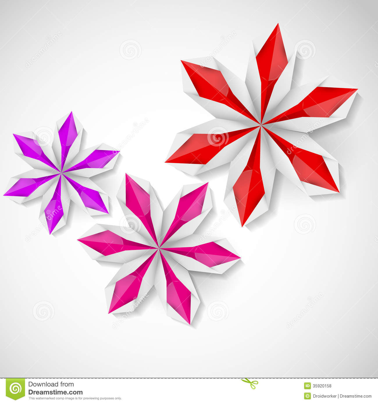 op art floral graphics - photo #30