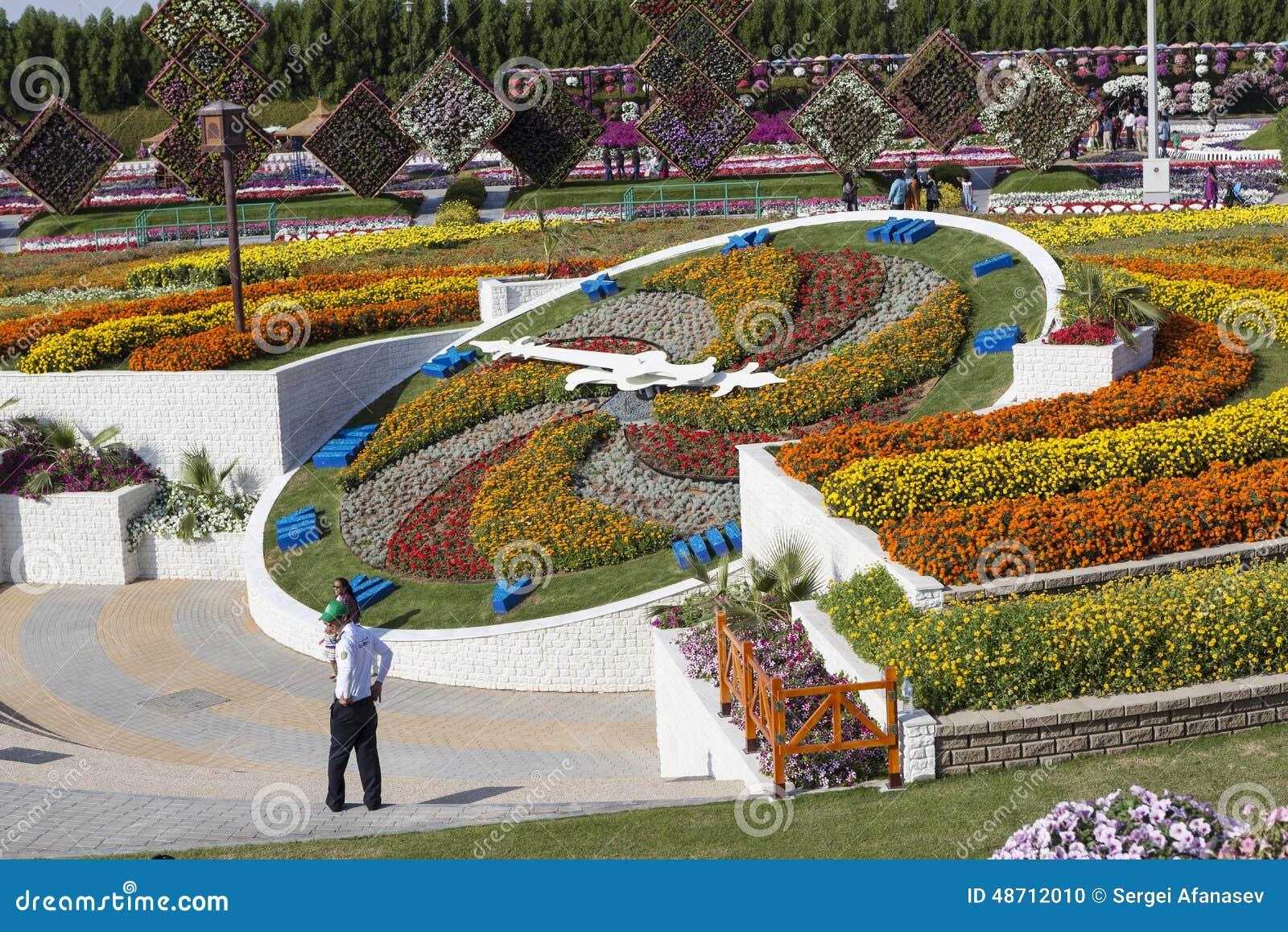 Flower park in dubai dubai miracle garden united arab for Home garden design dubai
