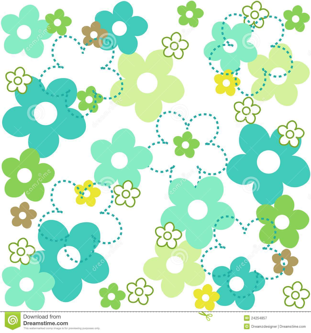 Flower Pattern Royalty Free Stock graphy Image