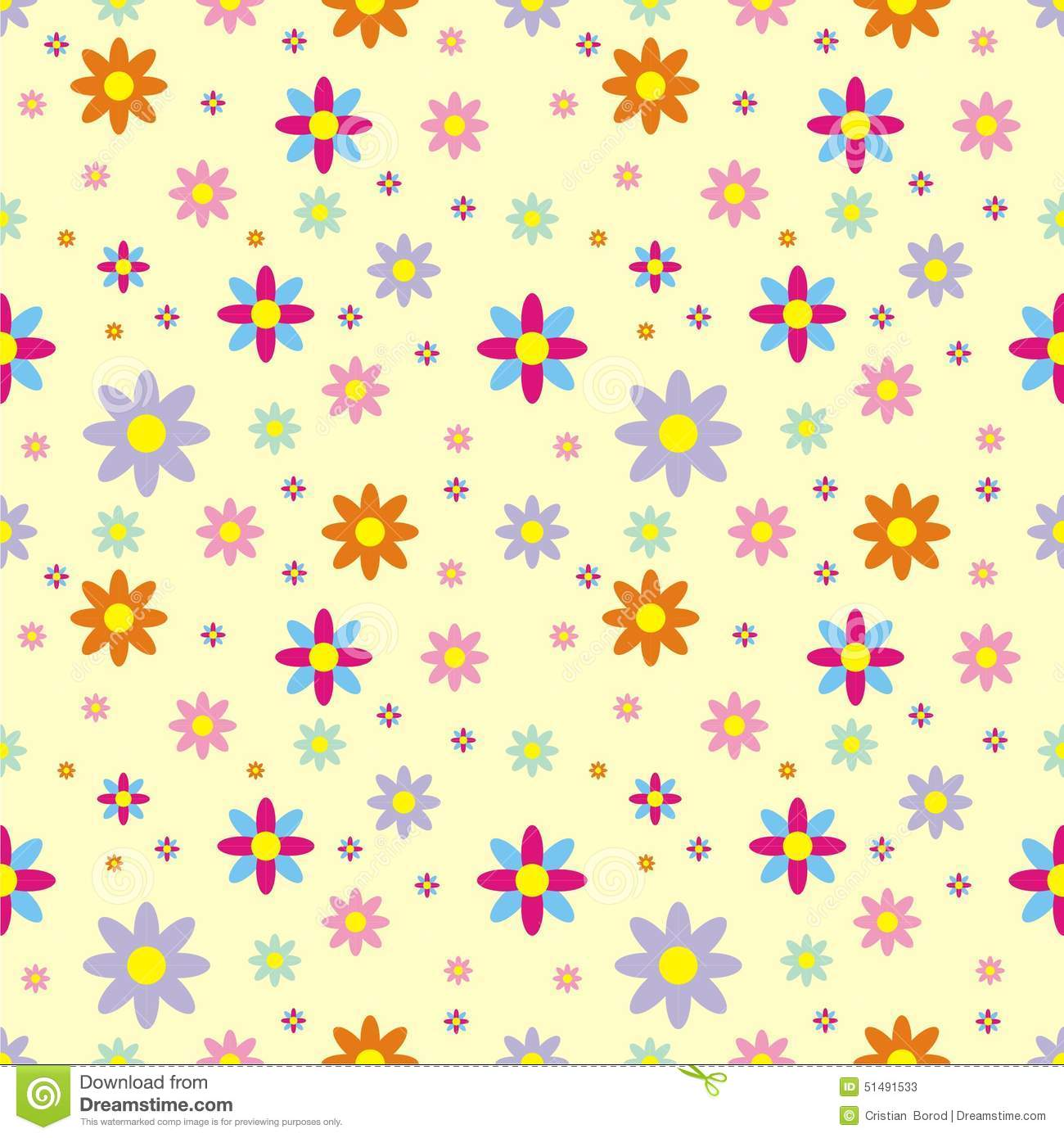Flower pattern background stock illustration illustration of flower pattern background mightylinksfo